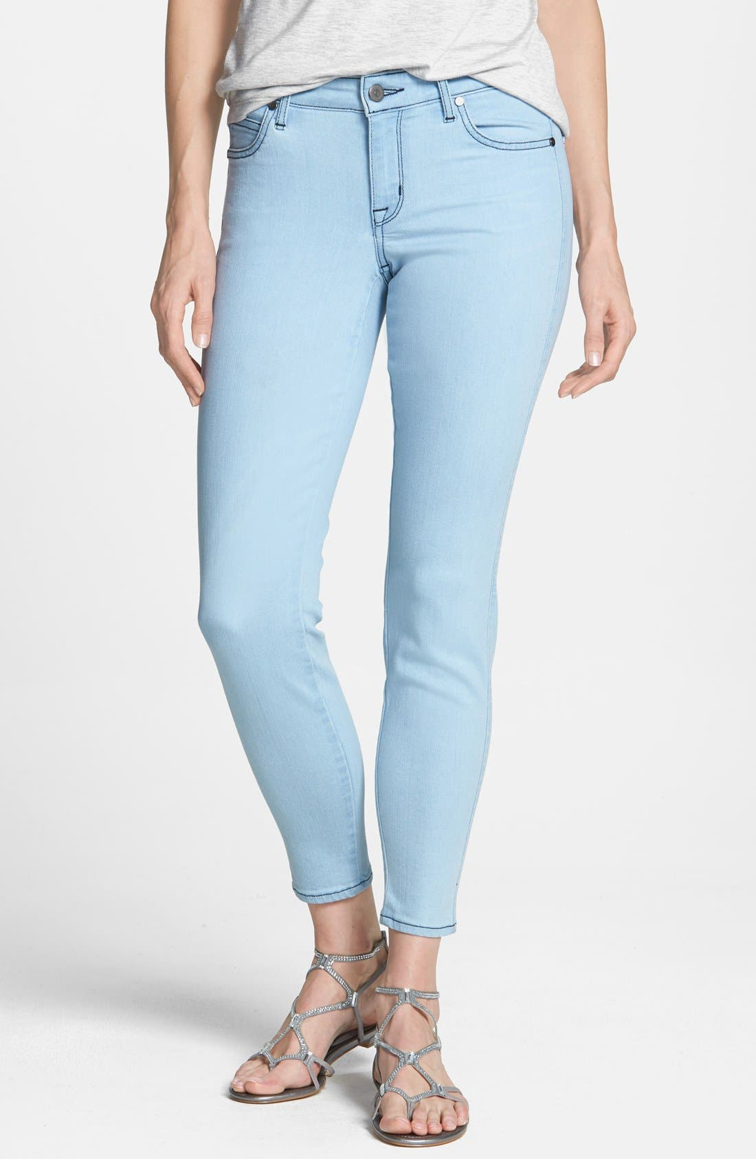 Alternate Image 1 Selected - CJ by Cookie Johnson 'Wisdom' Stretch Ankle Skinny Jeans (Sawyer)