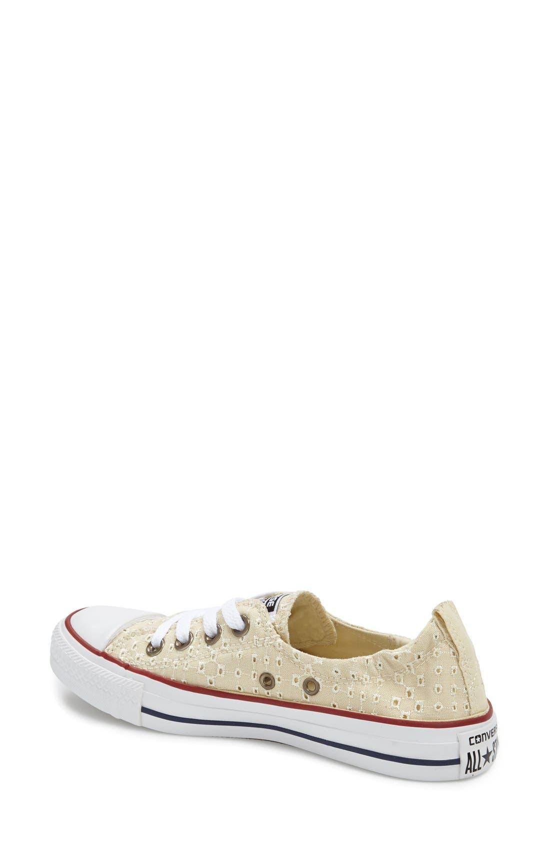 Alternate Image 2  - Converse Chuck Taylor® 'Shoreline' Eyelet Sneaker (Women)