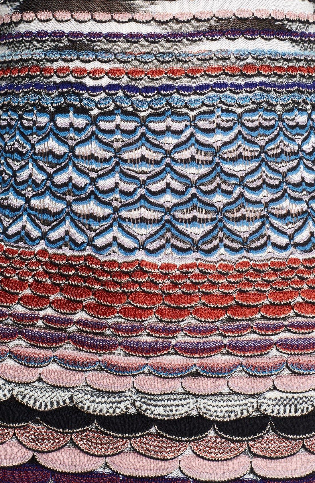 Alternate Image 3  - Missoni Wavy Knit T-Shirt Dress