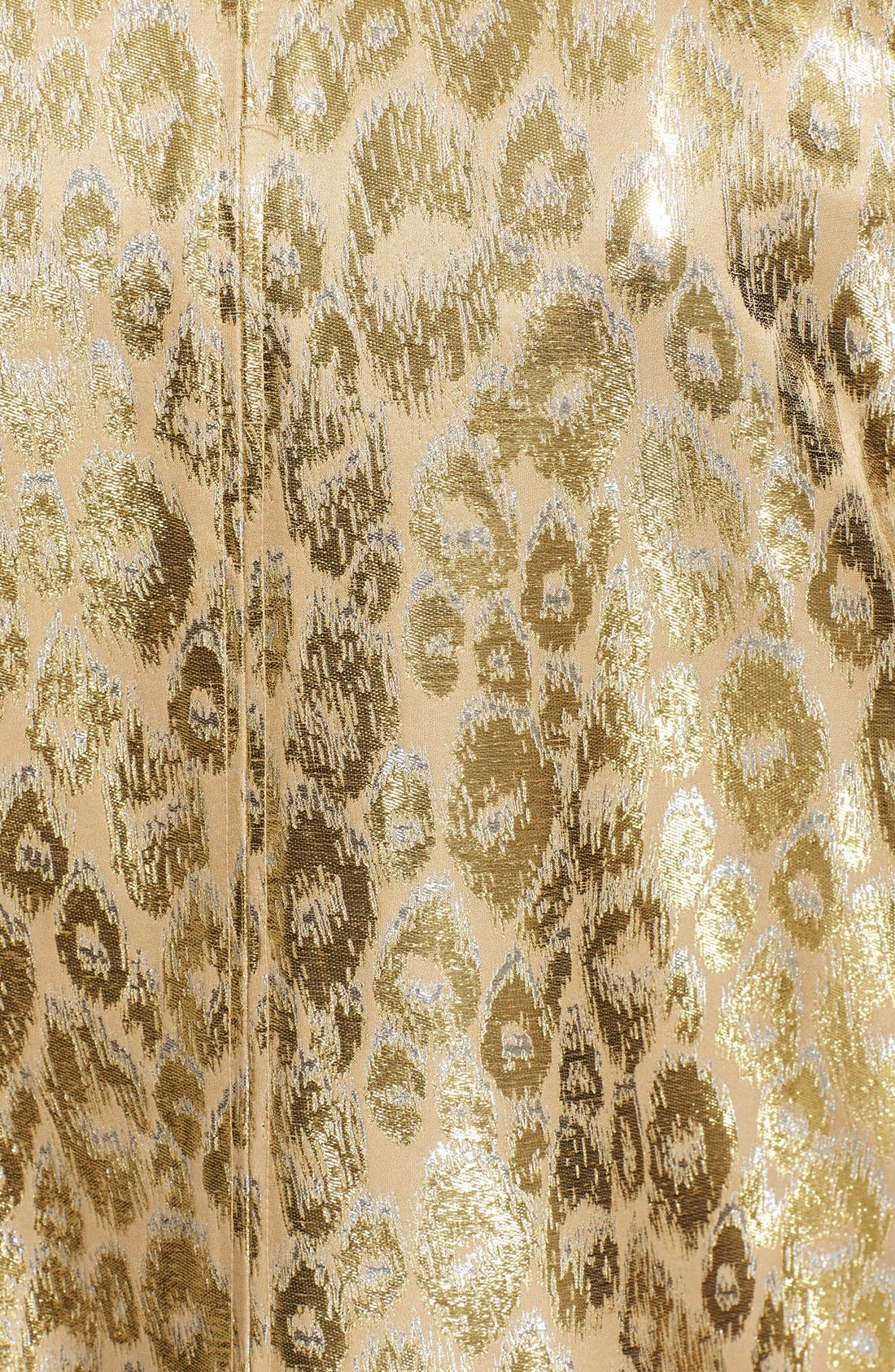 Alternate Image 3  - Lanvin Leopard Brocade Coat
