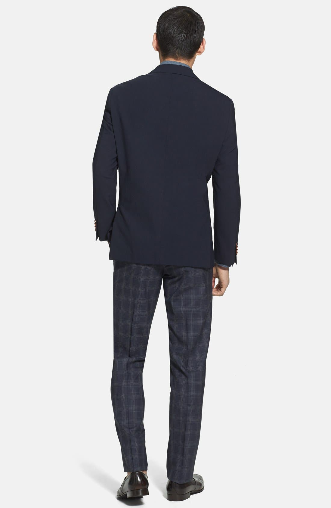 Alternate Image 5  - Ibiza Modern Fit Wool Blend Sport Coat