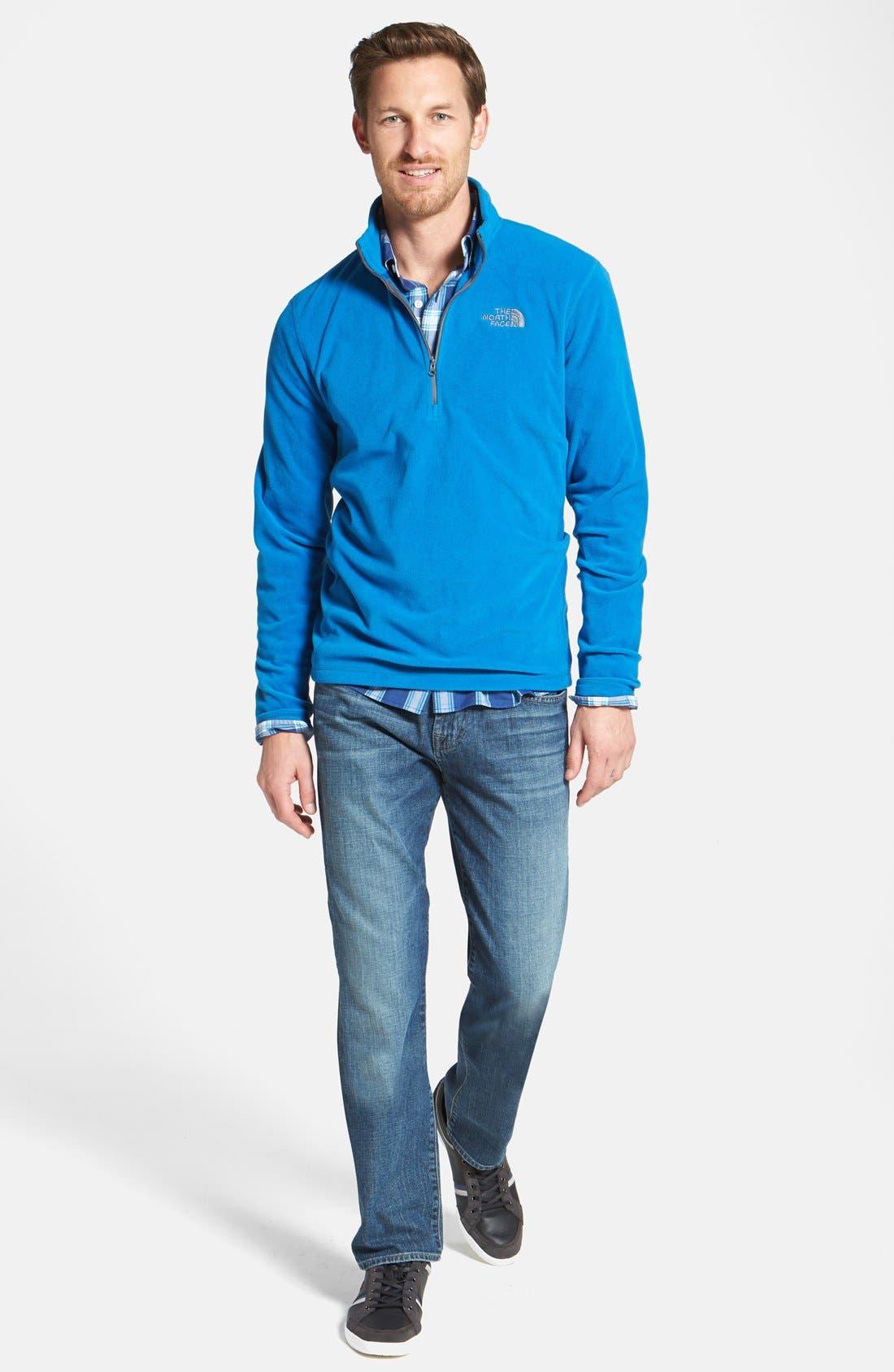 Alternate Image 8  - 7 For All Mankind® 'The Straight' Modern Straight Leg Jeans (Blueridge)