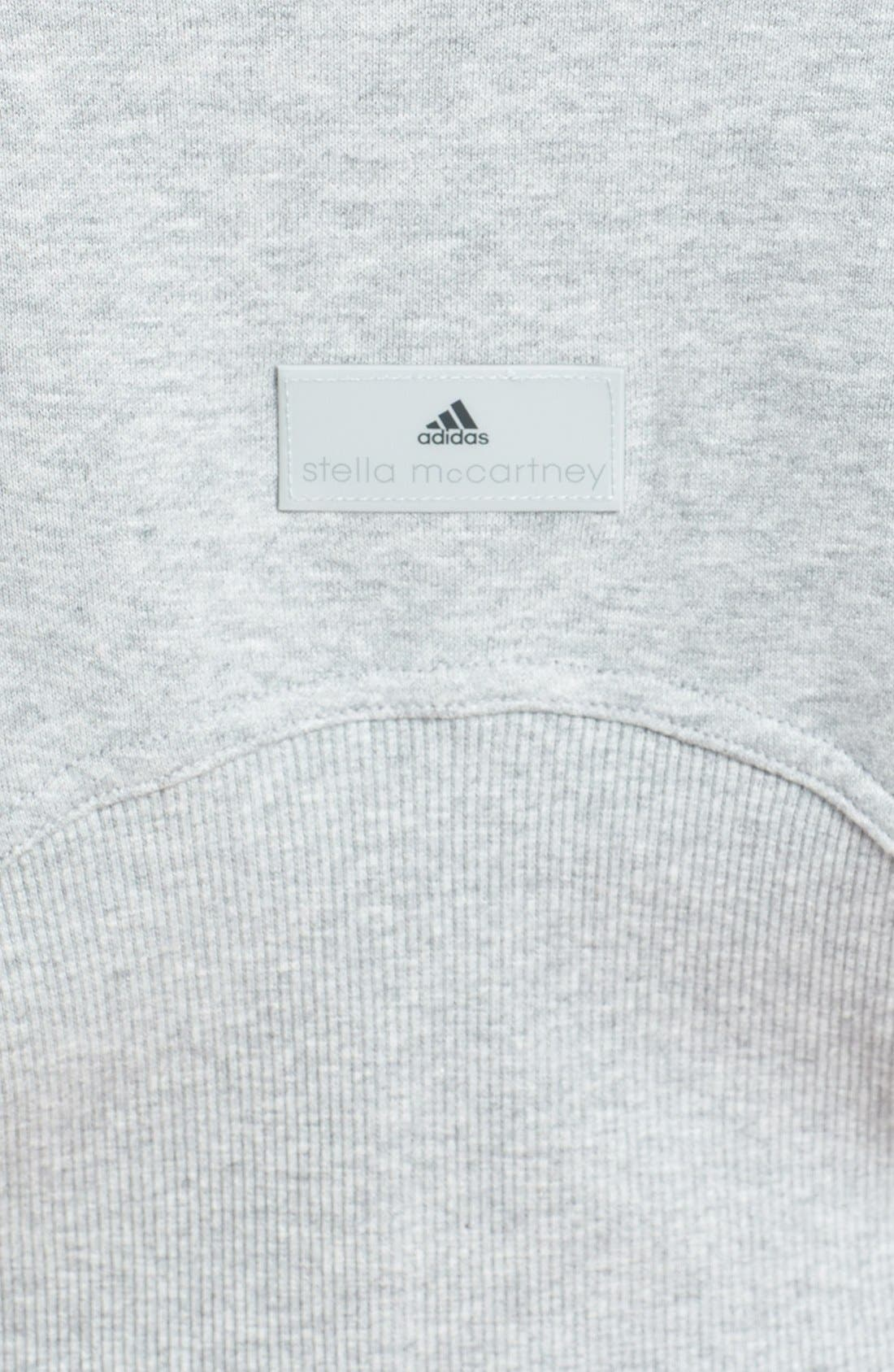 Alternate Image 3  - adidas by Stella McCartney 'Studio' French Terry Crop Hoodie