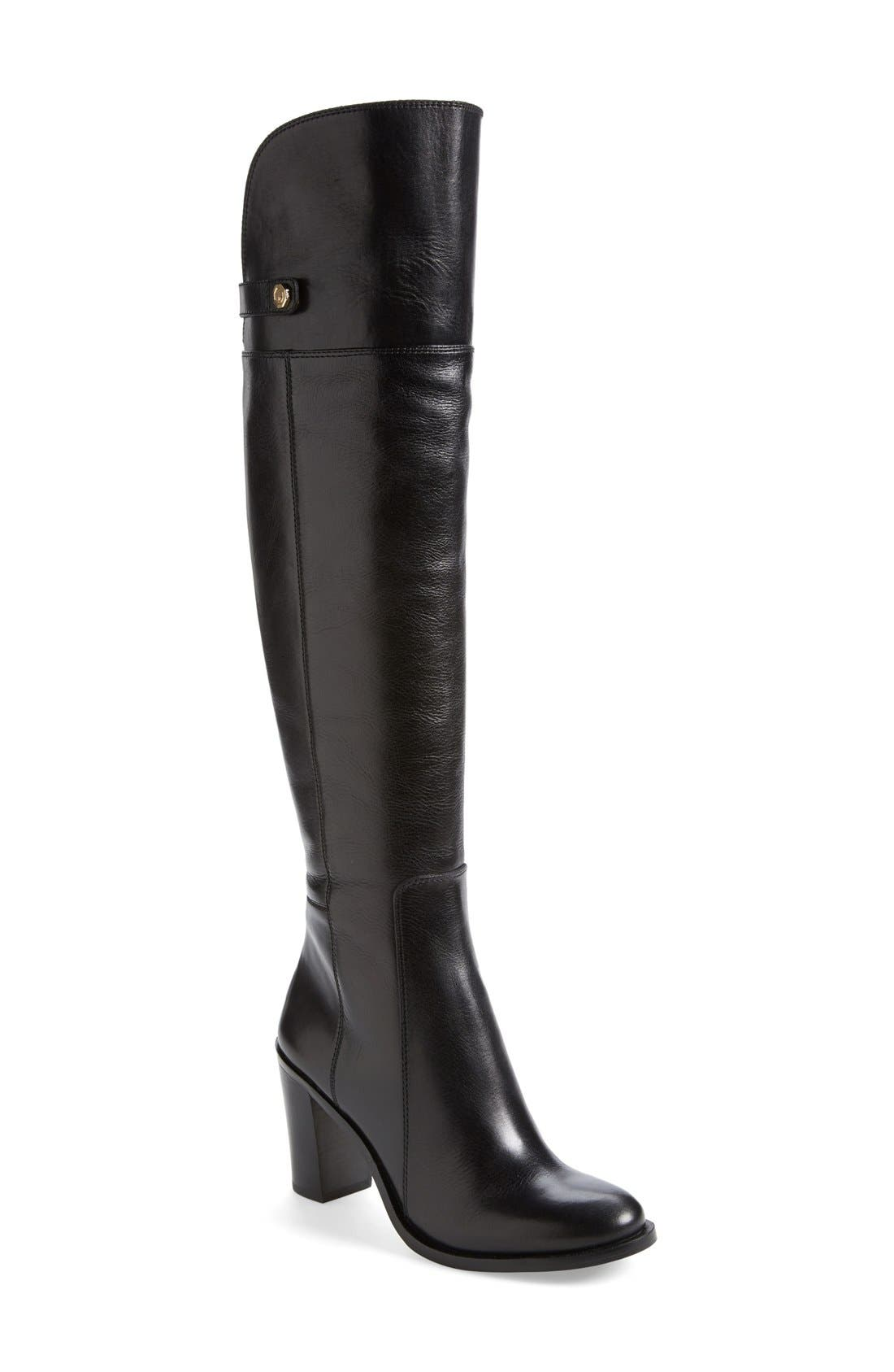 Main Image - Louise et Cie 'Navaria' Over the Knee Leather Boot (Women)