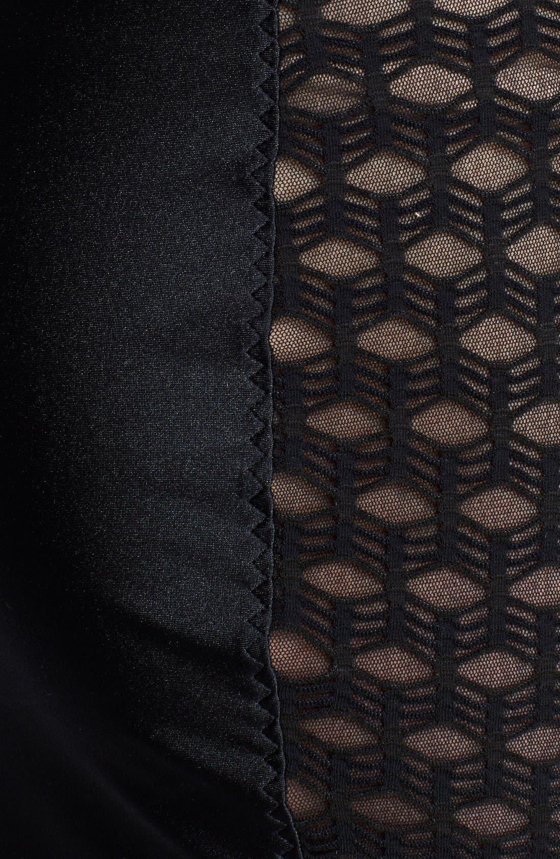 Alternate Image 3  - Jean Paul Gaultier Mixed Media Pencil Dress