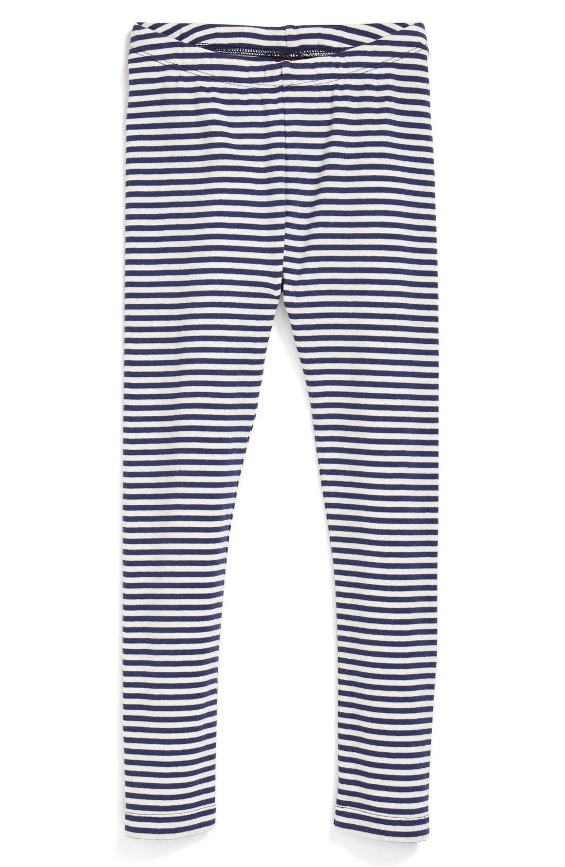 Main Image - Tea Collection Stripe Leggings (Little Girls)