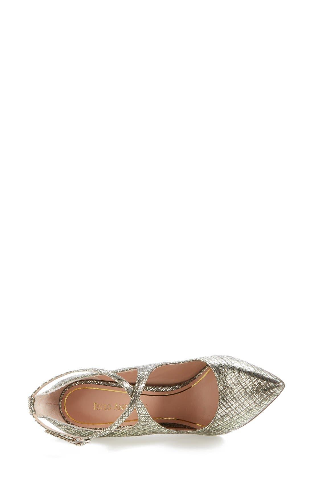 Alternate Image 4  - Enzo Angiolini 'Finton' Leather Pointy Toe Pump (Women)