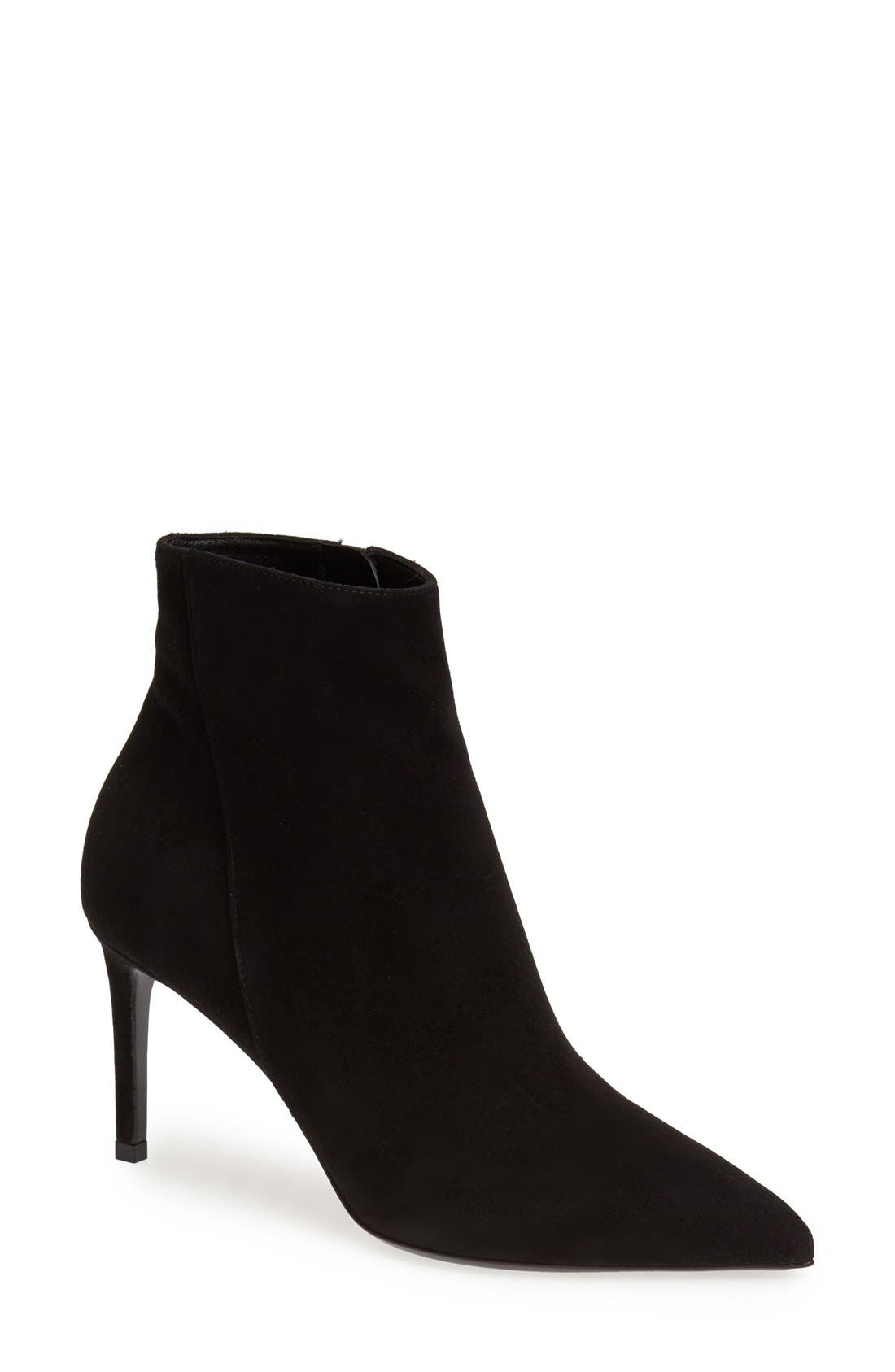 Alternate Image 1 Selected - Saint Laurent Pointy Toe Bootie (Women)