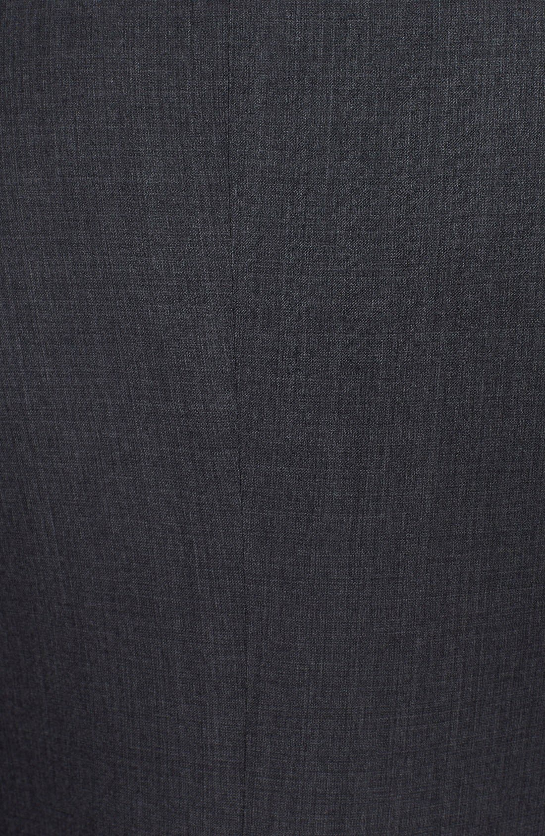 Alternate Image 5  - Armani Collezioni 'Sartorial' Grey Wool Suit