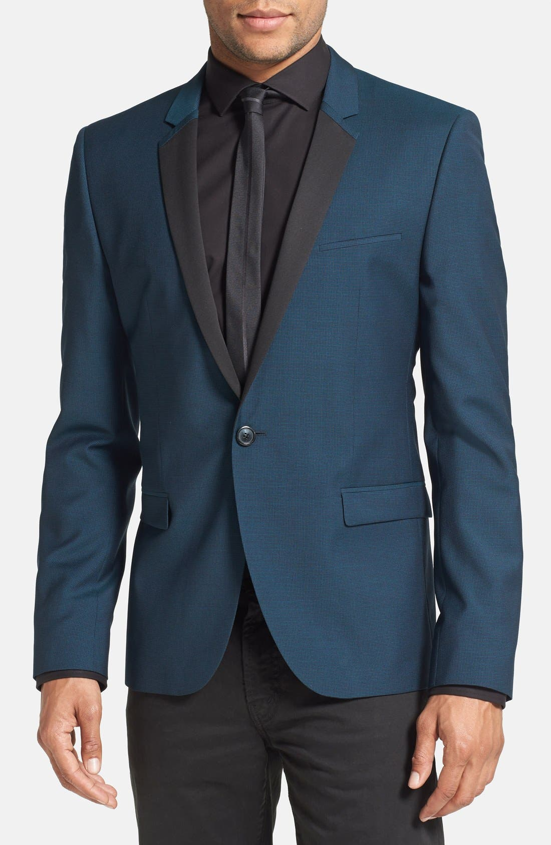 Alternate Image 1 Selected - HUGO 'Extra' Trim Fit Wool Sport Coat (Online Only)