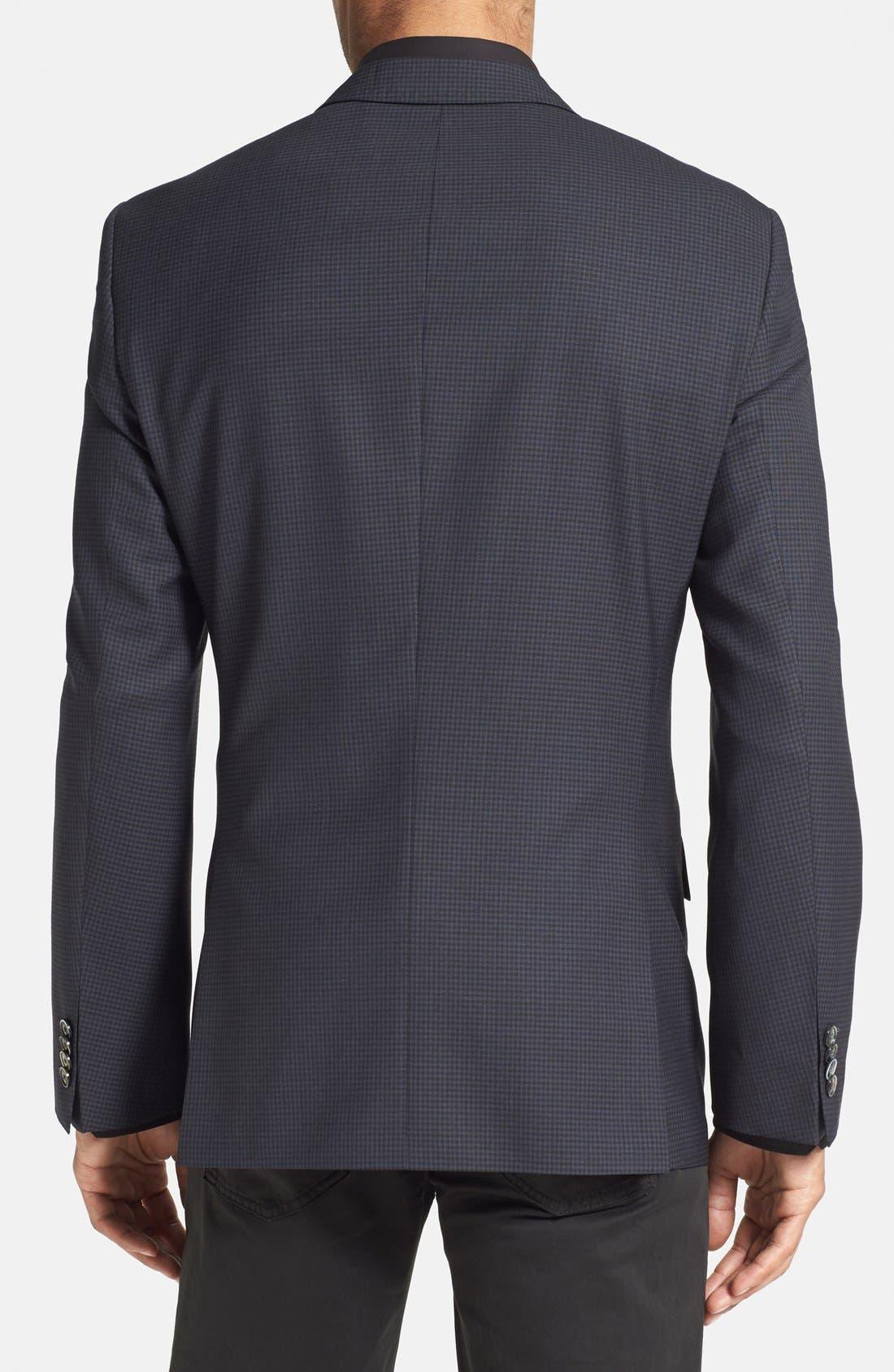 Alternate Image 2  - BOSS HUGO BOSS 'Hutsons' Trim Fit Check Sport Coat