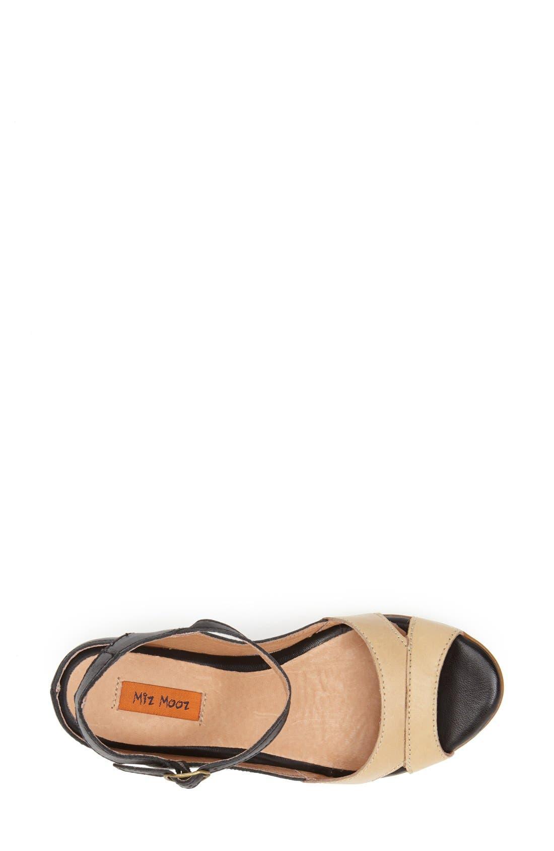 Alternate Image 3  - Miz Mooz Footwear 'Cosette' Wedge Sandal (Women)