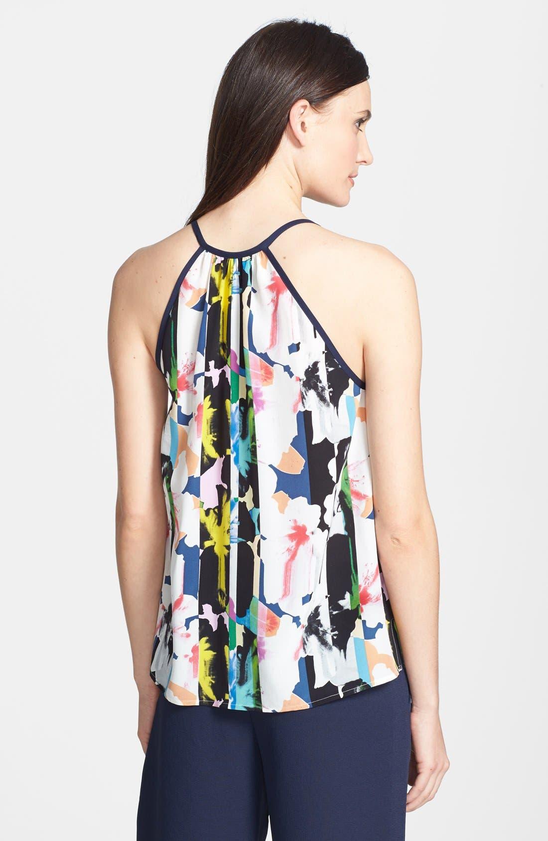 Alternate Image 2  - Rebecca Minkoff 'Lizzy Bora Bora' Print Silk Tank