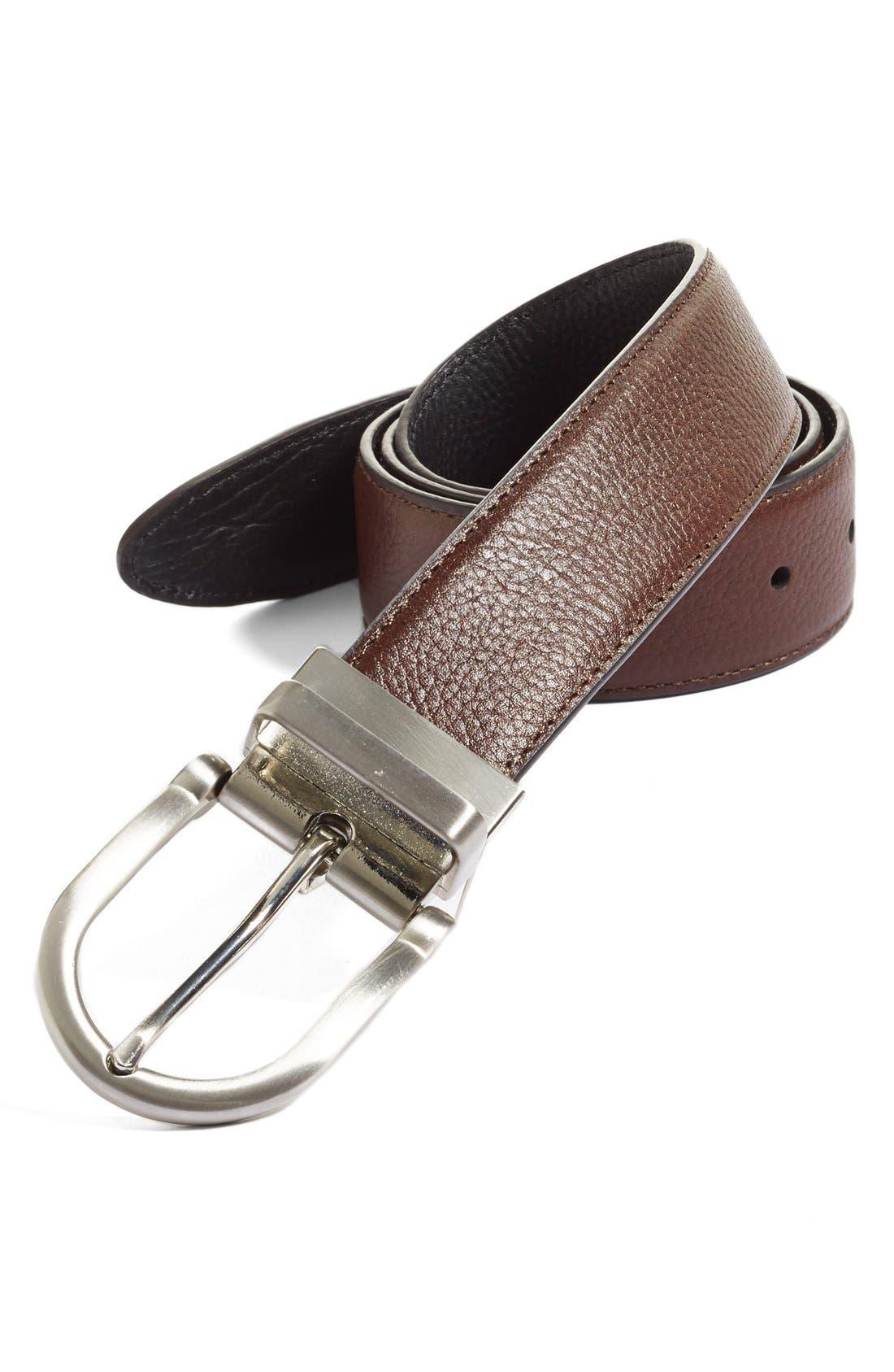 Alternate Image 1 Selected - Nordstrom Reversible Leather Belt
