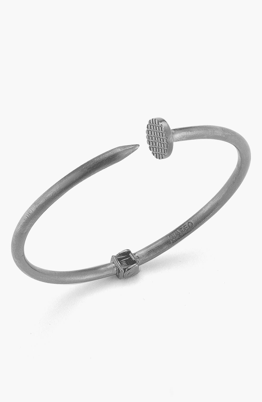 Alternate Image 2  - Mateo Bijoux Hinged Nail Bracelet