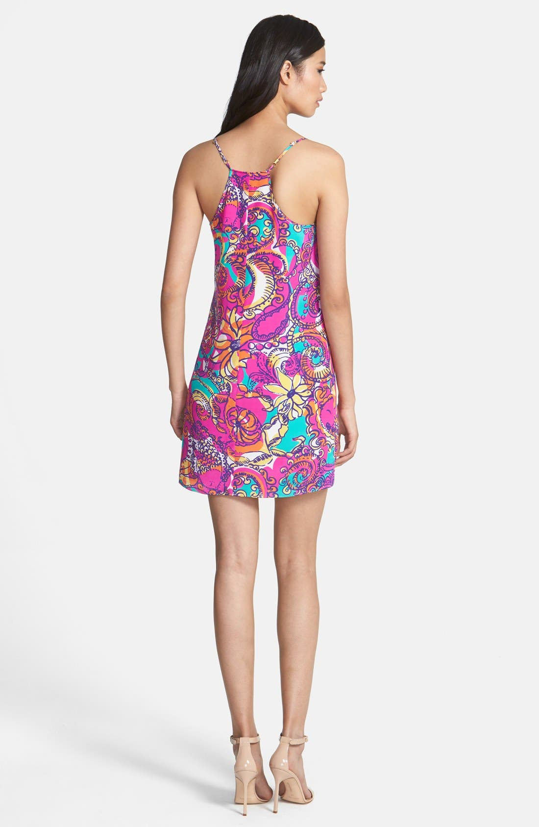 Alternate Image 2  - Lilly Pulitzer® 'Dusk' Print Silk Slipdress