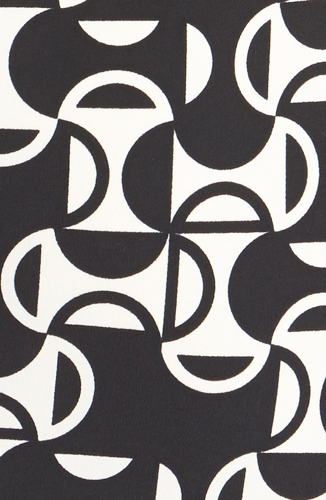 Alternate Image 4  - Donna Morgan Print Matte Jersey Sheath Dress