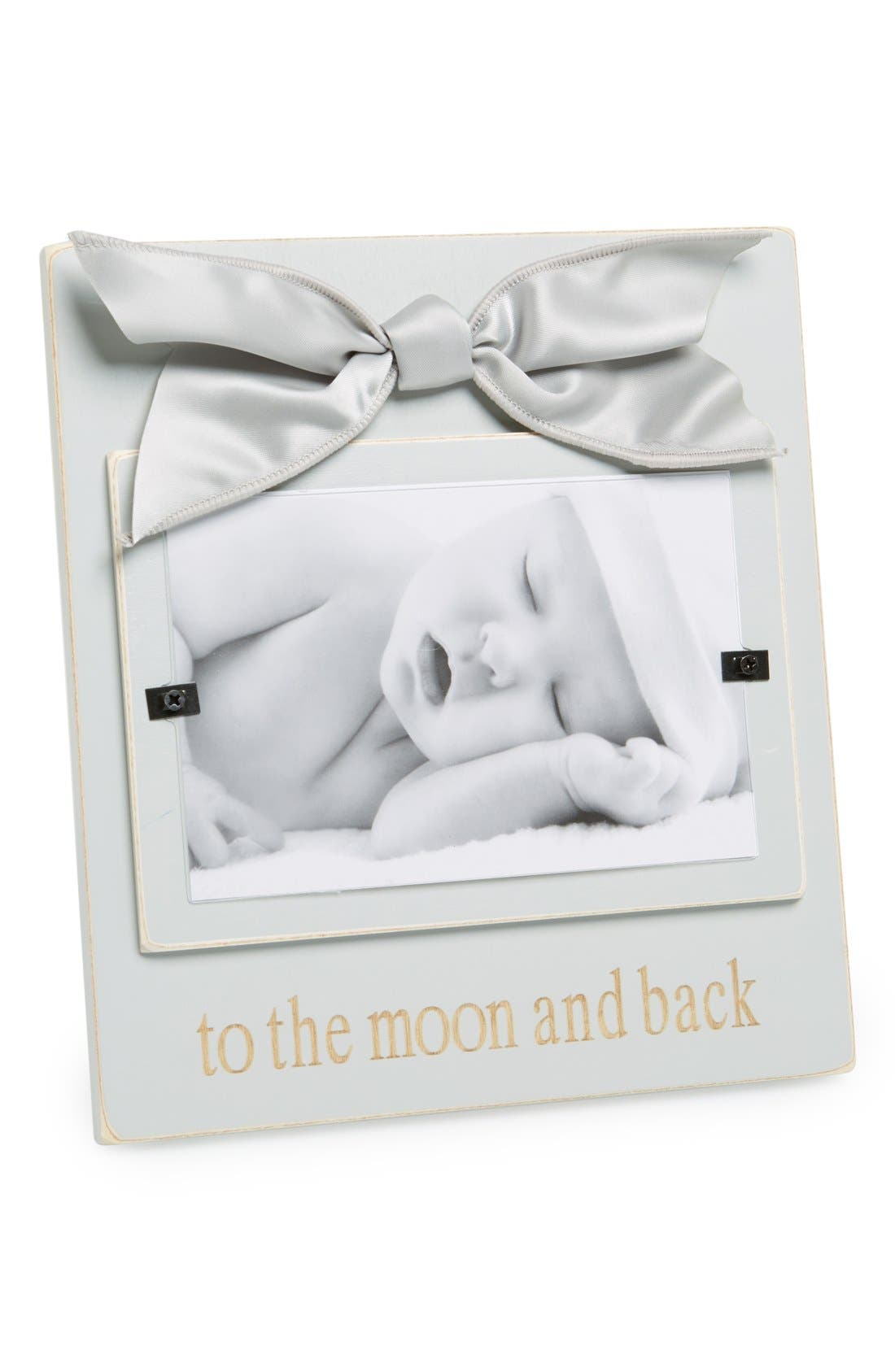 Main Image - Mud Pie 'To the Moon and Back' Picture Frame