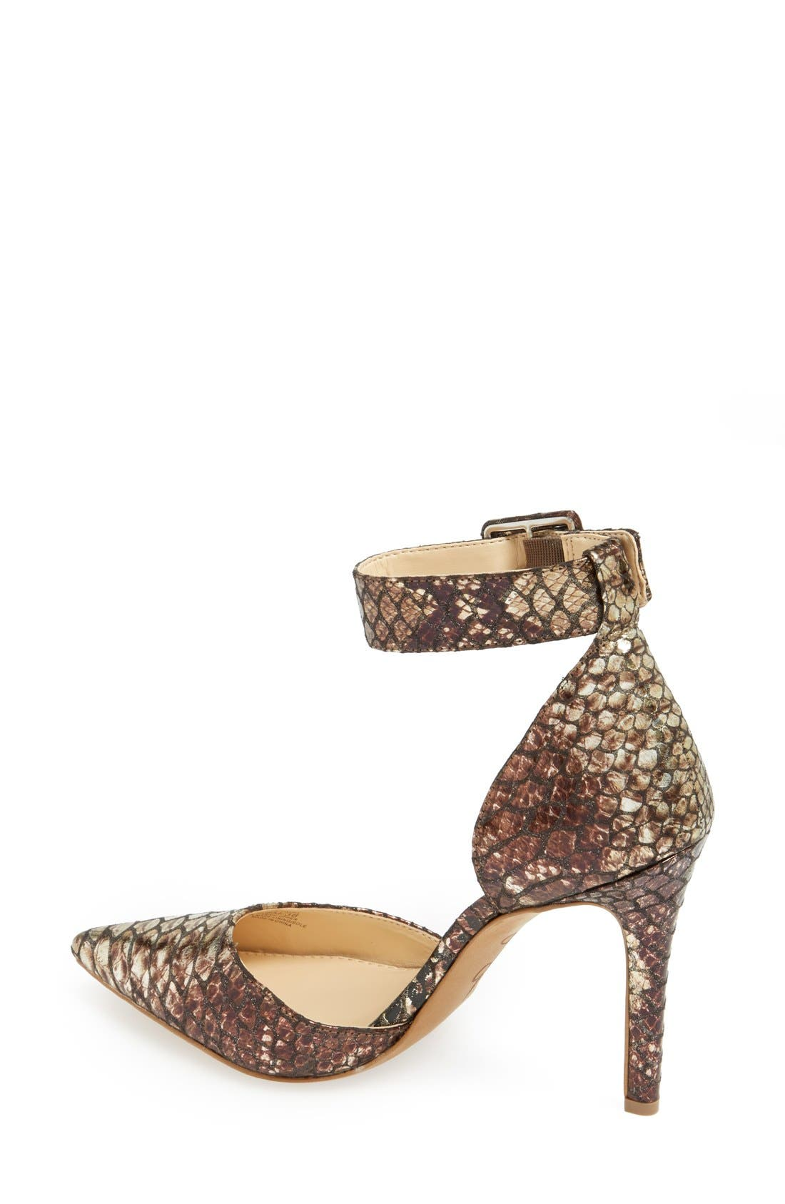 Alternate Image 2  - Jessica Simpson 'Cayna' D'Orsay Ankle Strap Pump