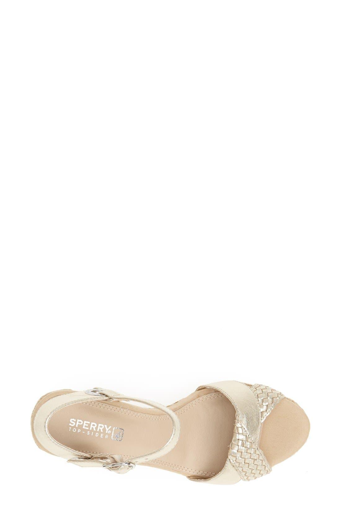 Alternate Image 3  - Sperry Top-Sider® 'Saylor' Wedge Sandal (Women)