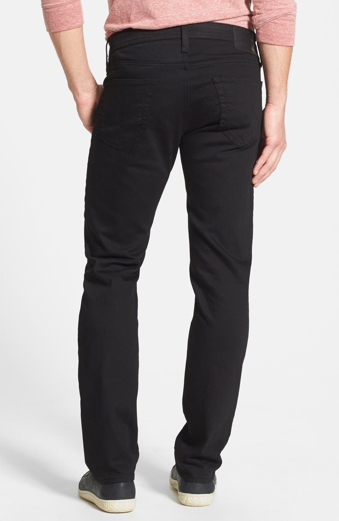 Alternate Image 2  - AG 'Matchbox' Slim Fit Jeans (Blackheart)