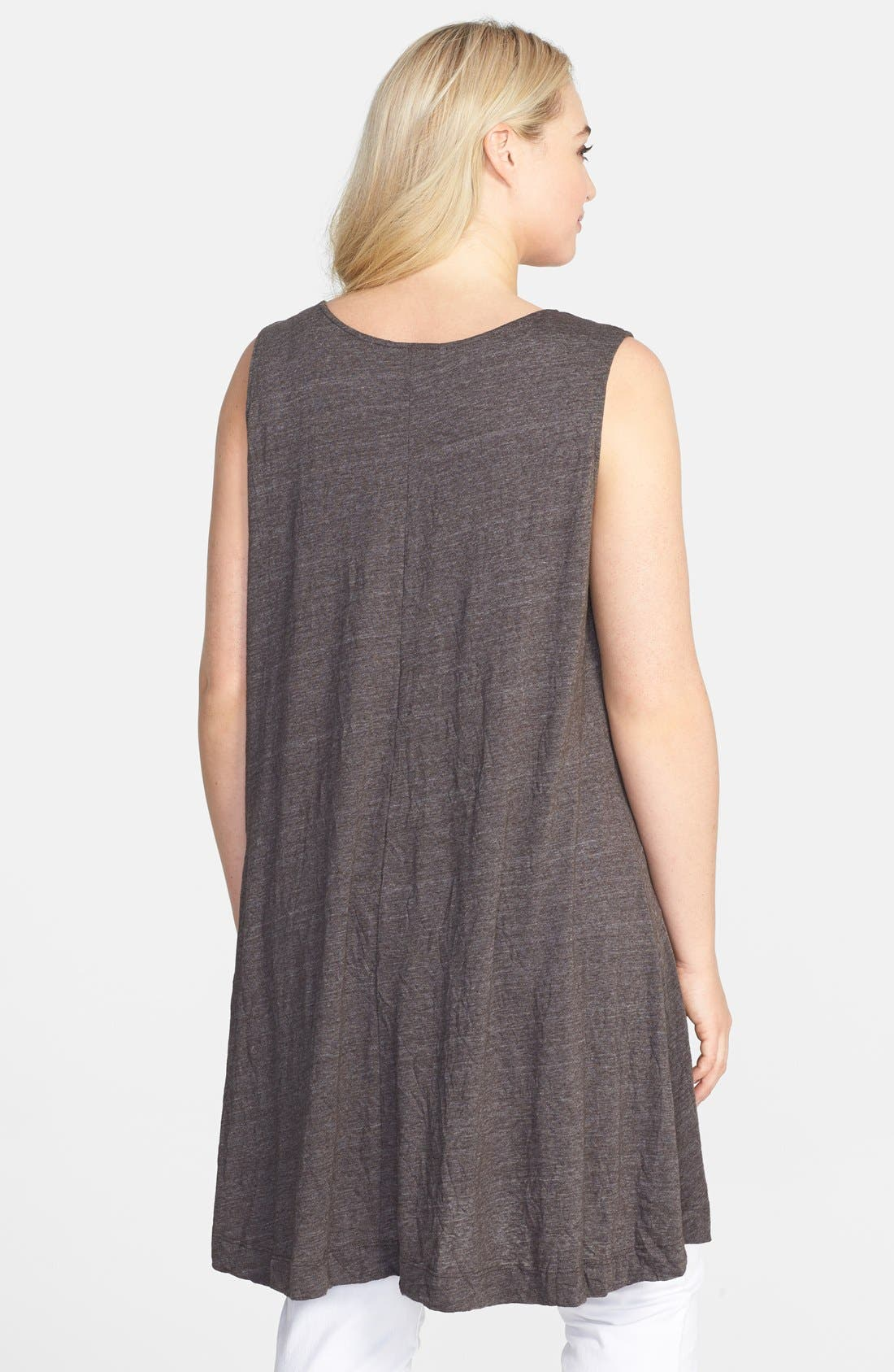 Alternate Image 2  - Chalet 'Liz' Jersey Tunic Tank (Plus Size)