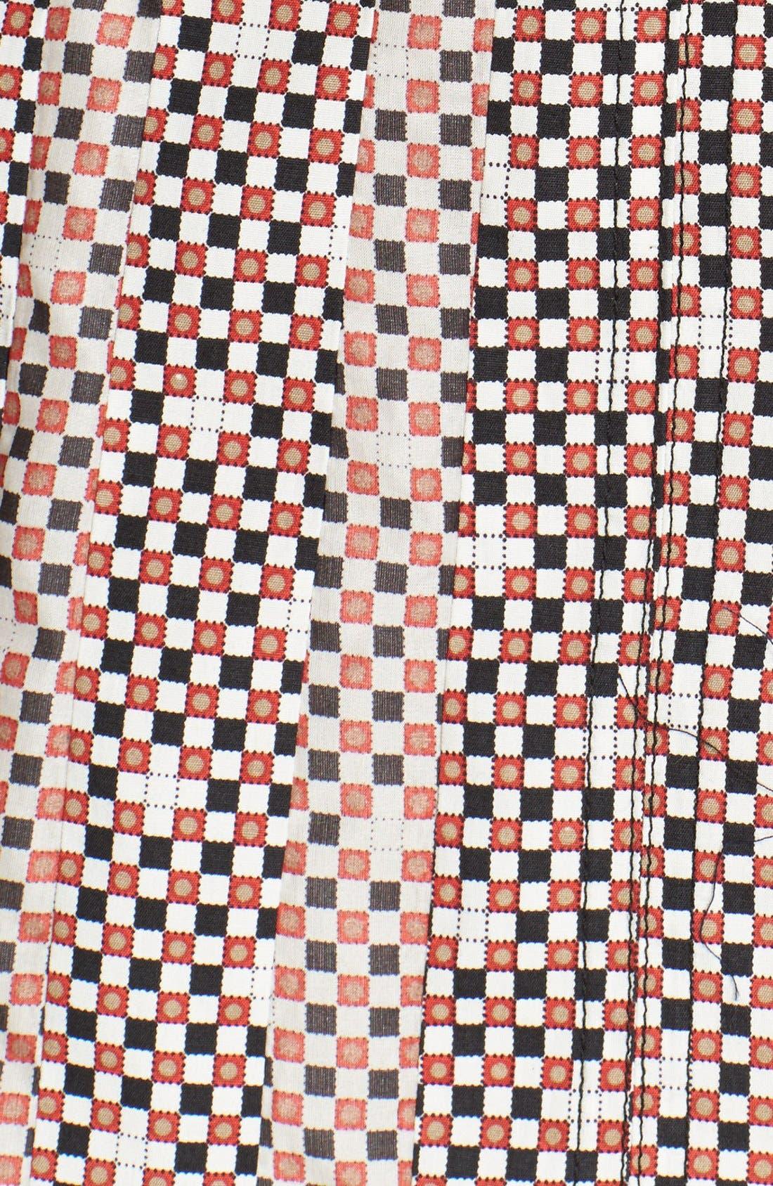 Alternate Image 3  - Tory Burch 'Floria' Print Stretch Silk Skirt