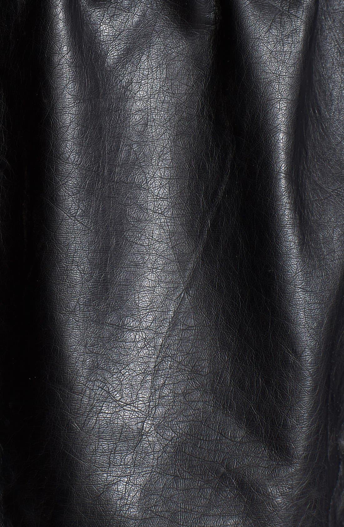 Alternate Image 3  - Free People Faux Leather Cargo Jacket