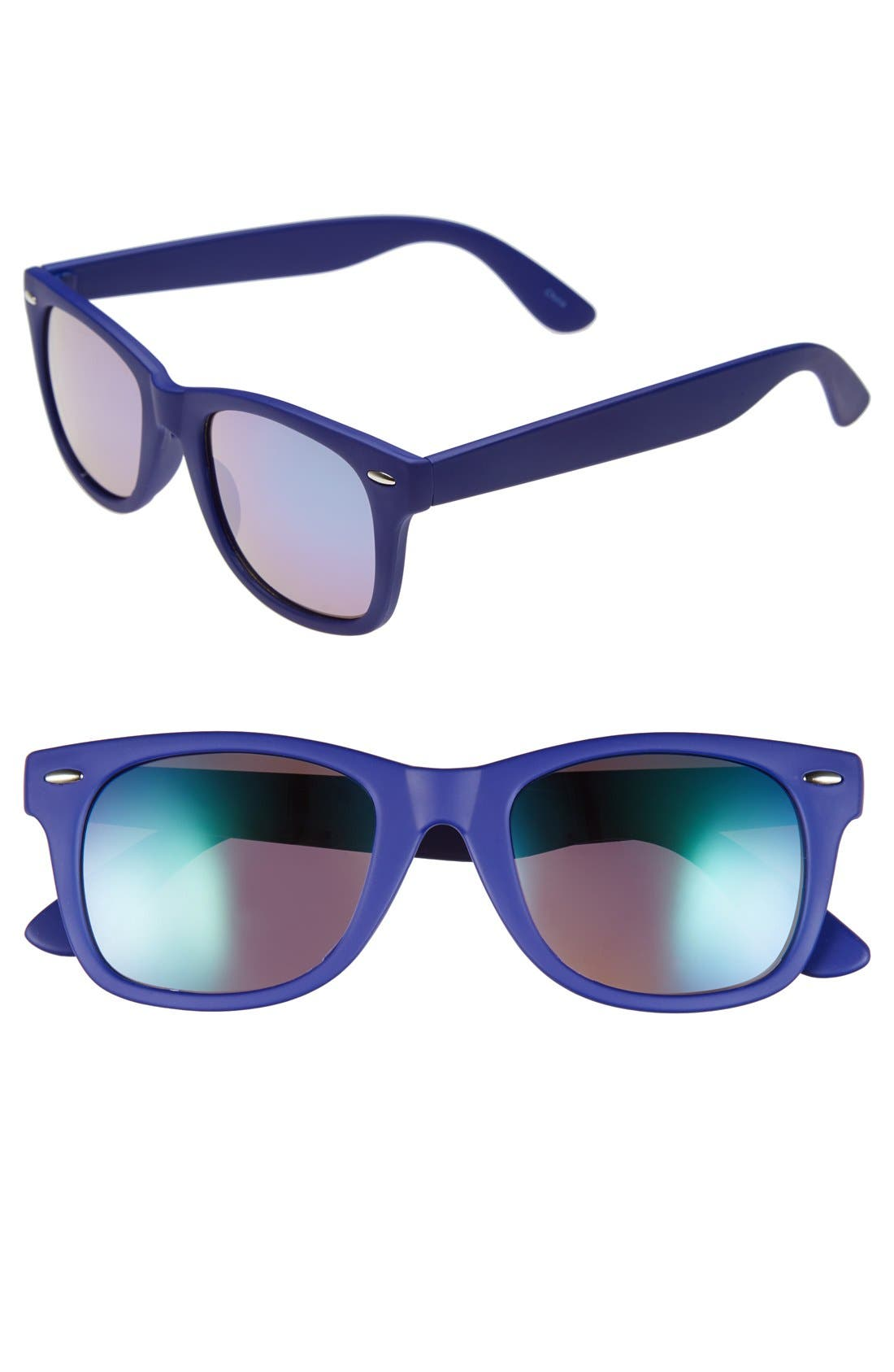 Alternate Image 1 Selected - Icon Eyewear 50mm Retro Sunglasses