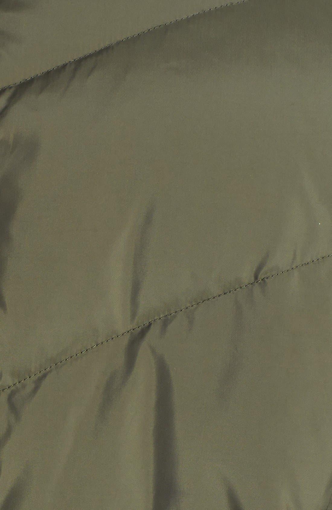 Alternate Image 3  - Cole Haan Knit Collar Down Coat
