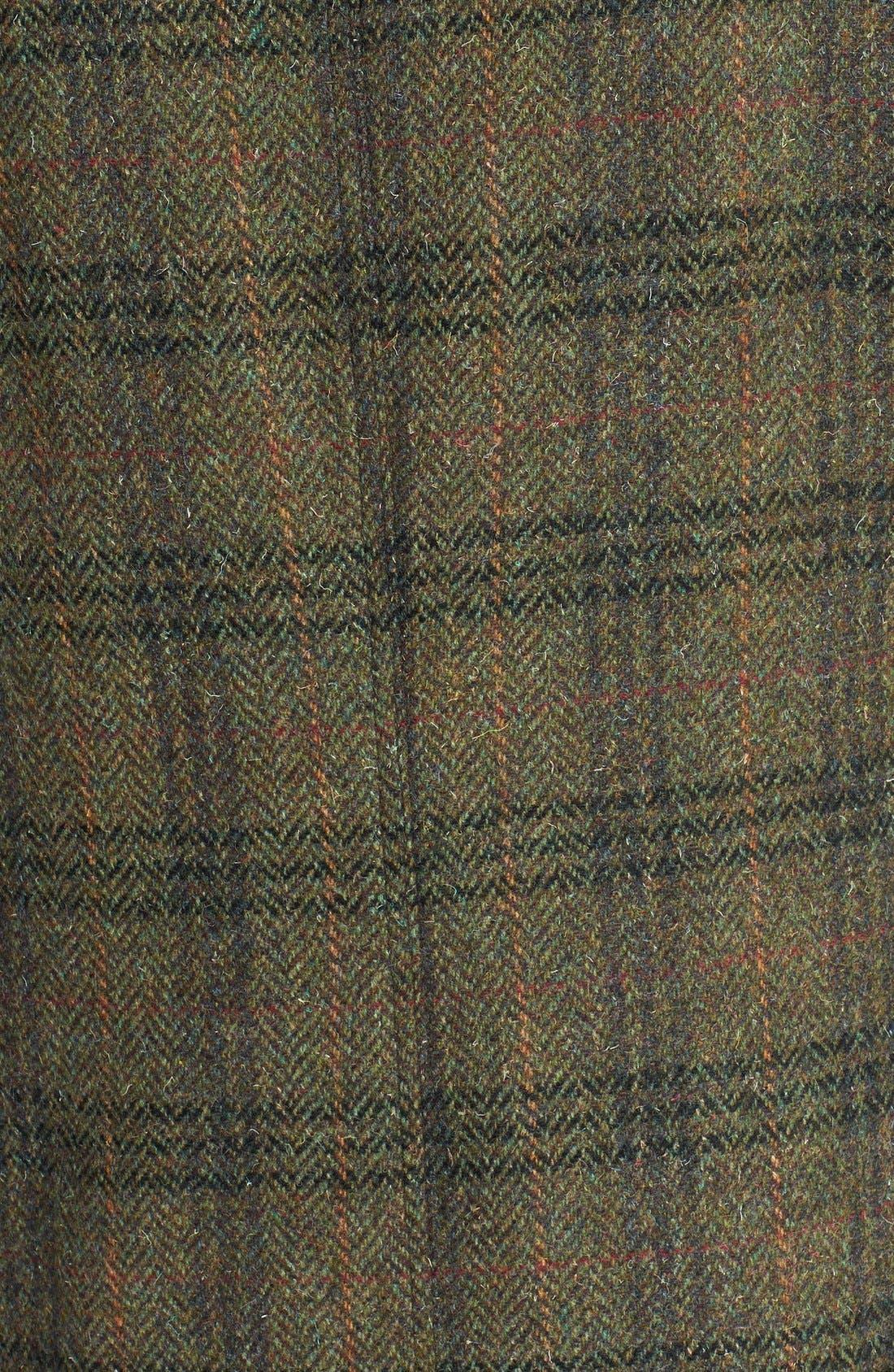 Alternate Image 3  - Barbour 'Beadnell - Edworth Tweed' Plaid Wool Coat