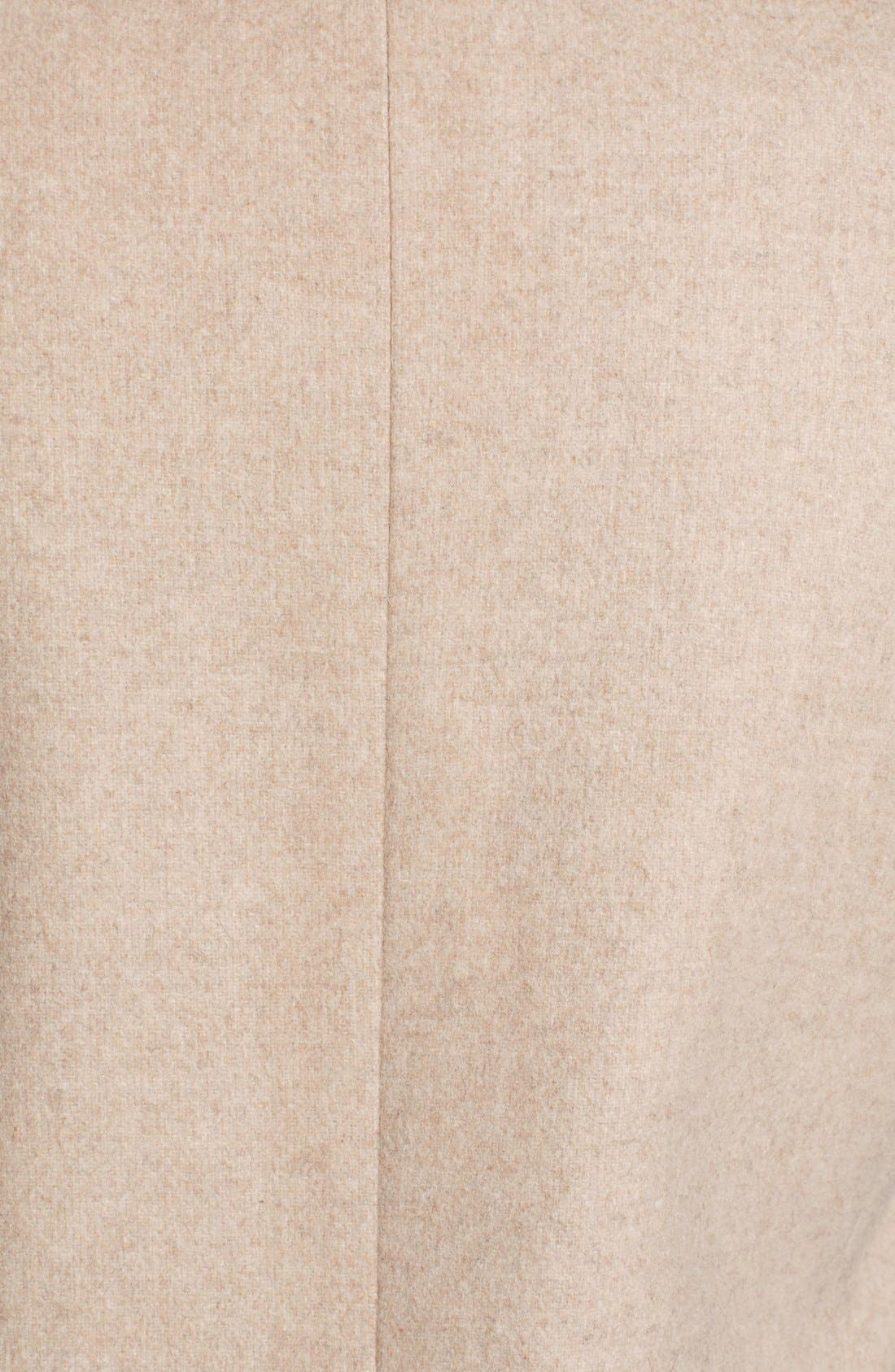 Alternate Image 4  - Stella McCartney Mélange Melton Wool Blend Coat