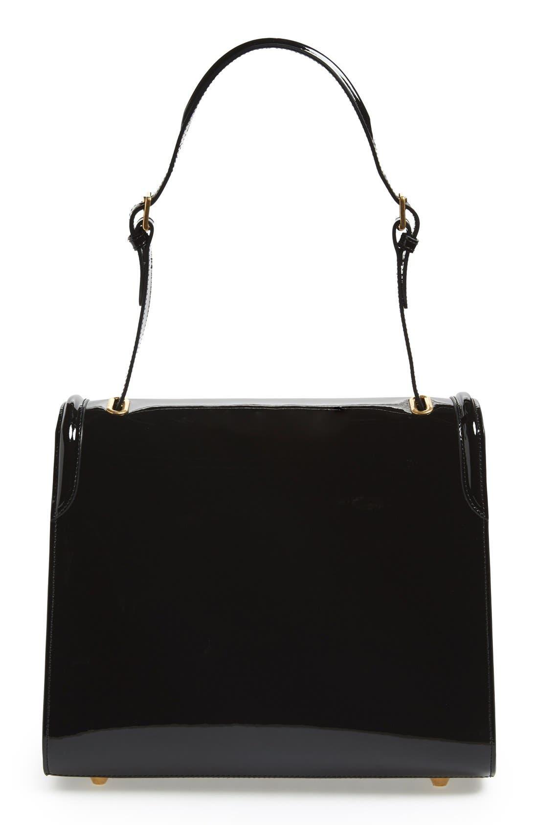 Alternate Image 4  - Alexander McQueen 'Heroine' Patent Leather Shoulder Bag