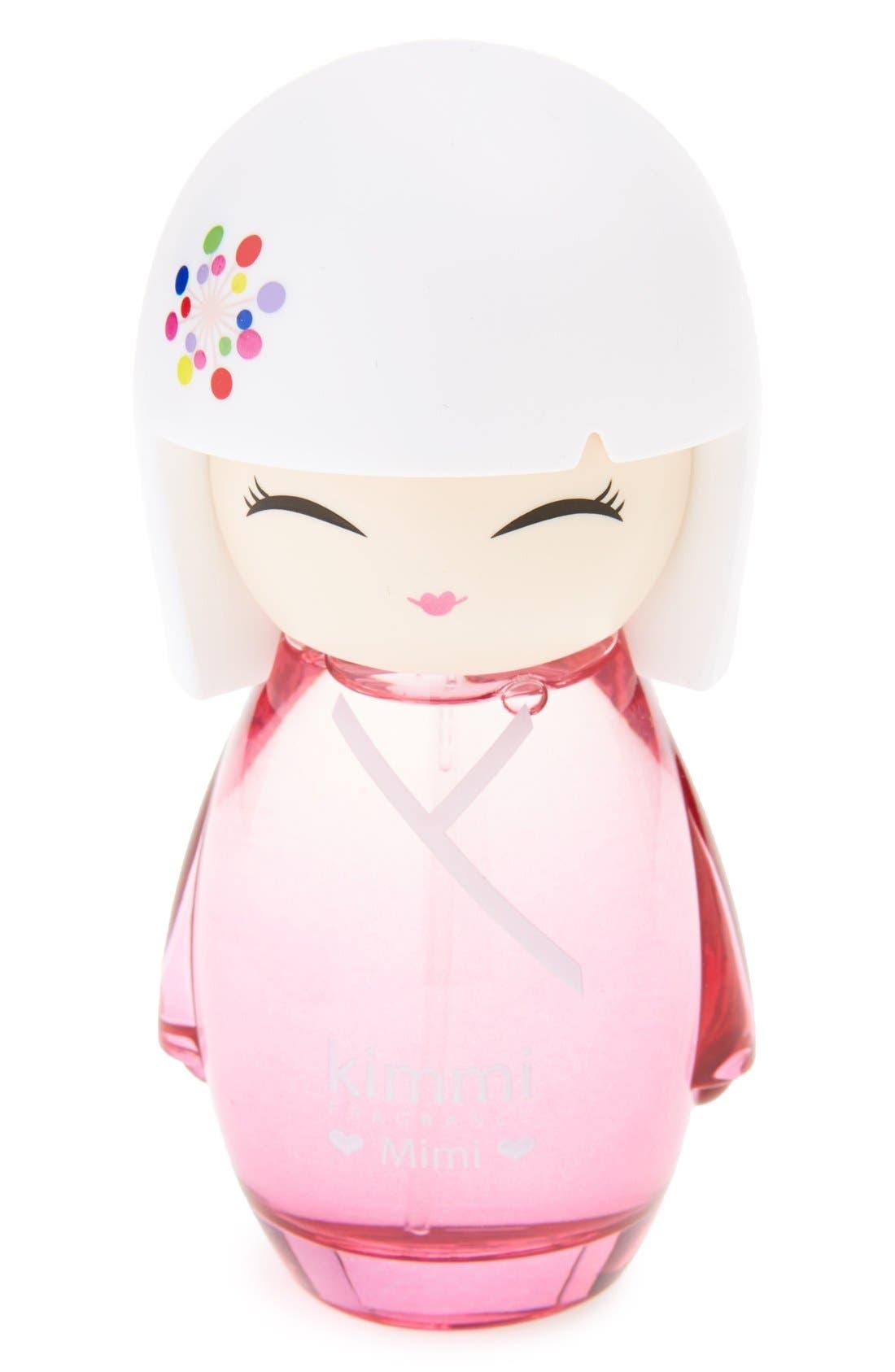 Alternate Image 1 Selected - Kimmi Fragrance 'Mimi' Eau de Toilette & Sticker Sheet (Girls)