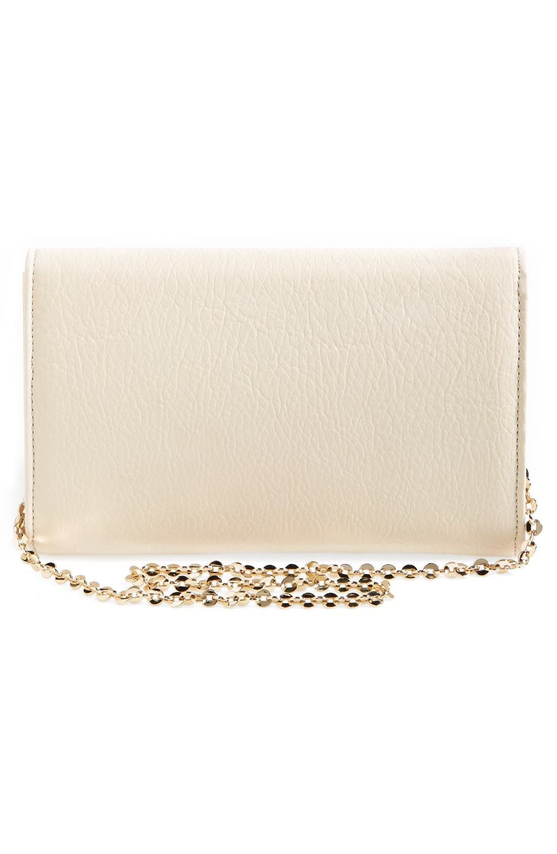 Alternate Image 4  - Ivanka Trump 'Blair' Faux Leather Bow Clutch