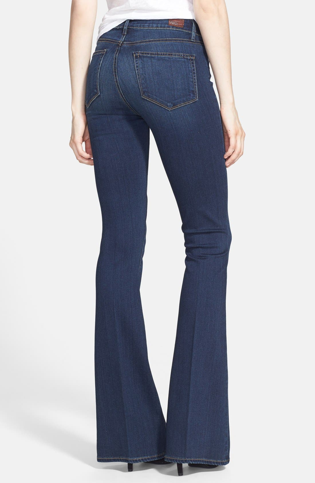 Alternate Image 2  - PAIGE 'Transcend - Bell Canyon' High Rise Flare Jeans (Nottingham)