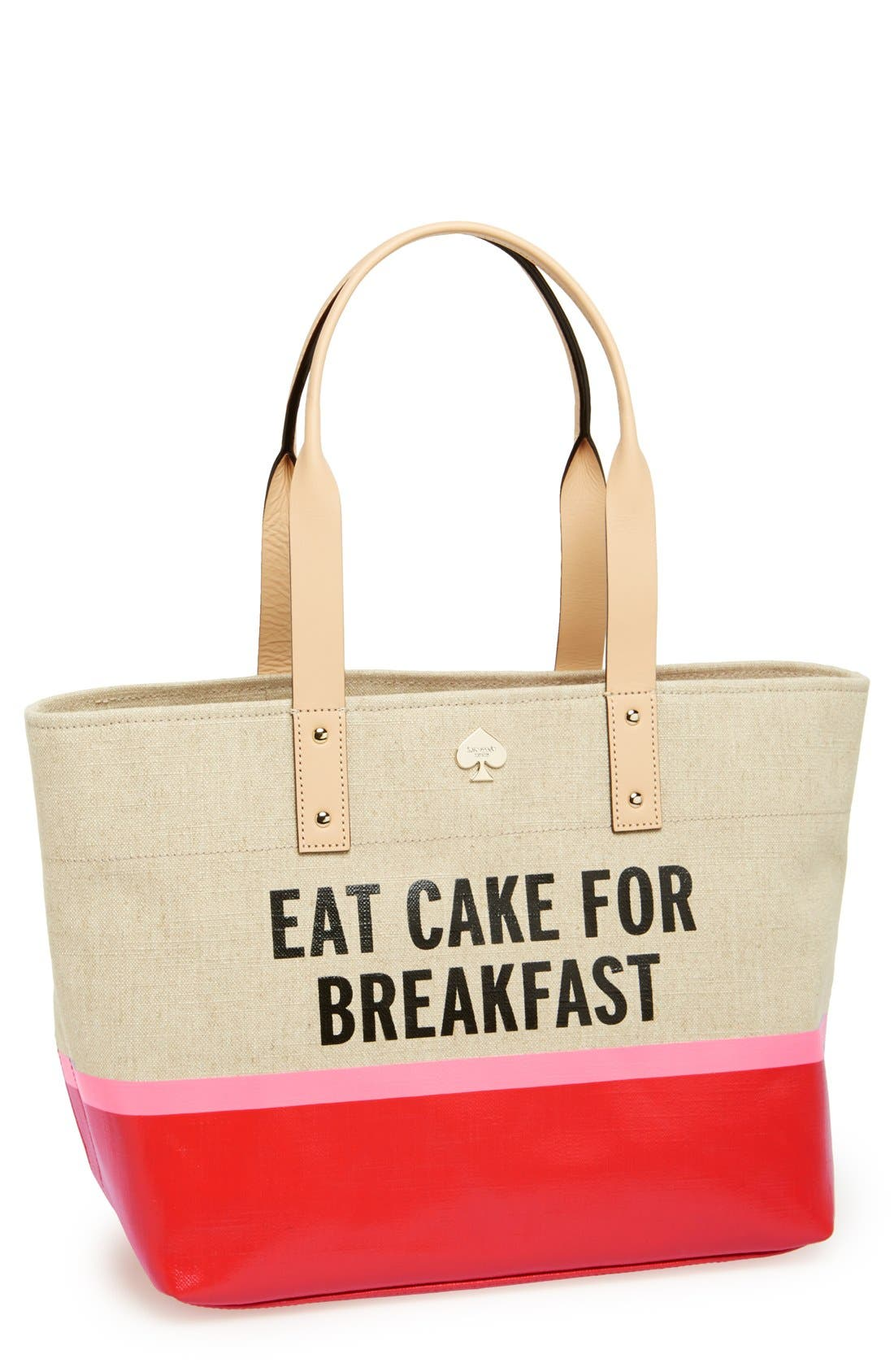 Main Image - kate spade new york 'word to the wise - francis' tote