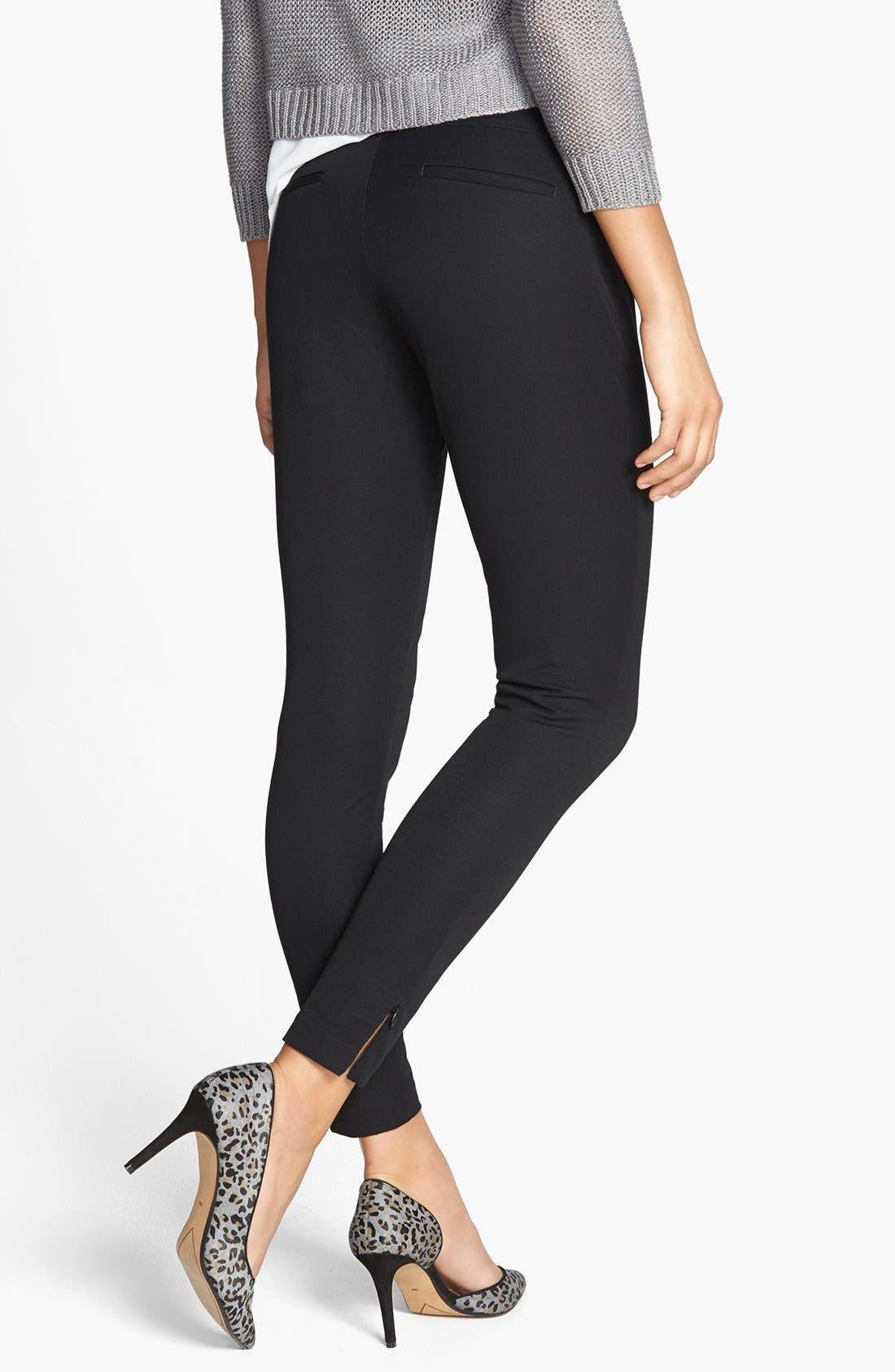 Alternate Image 2  - SPANX® 'Ready to Wow' Stretch Twill Control Top Leggings