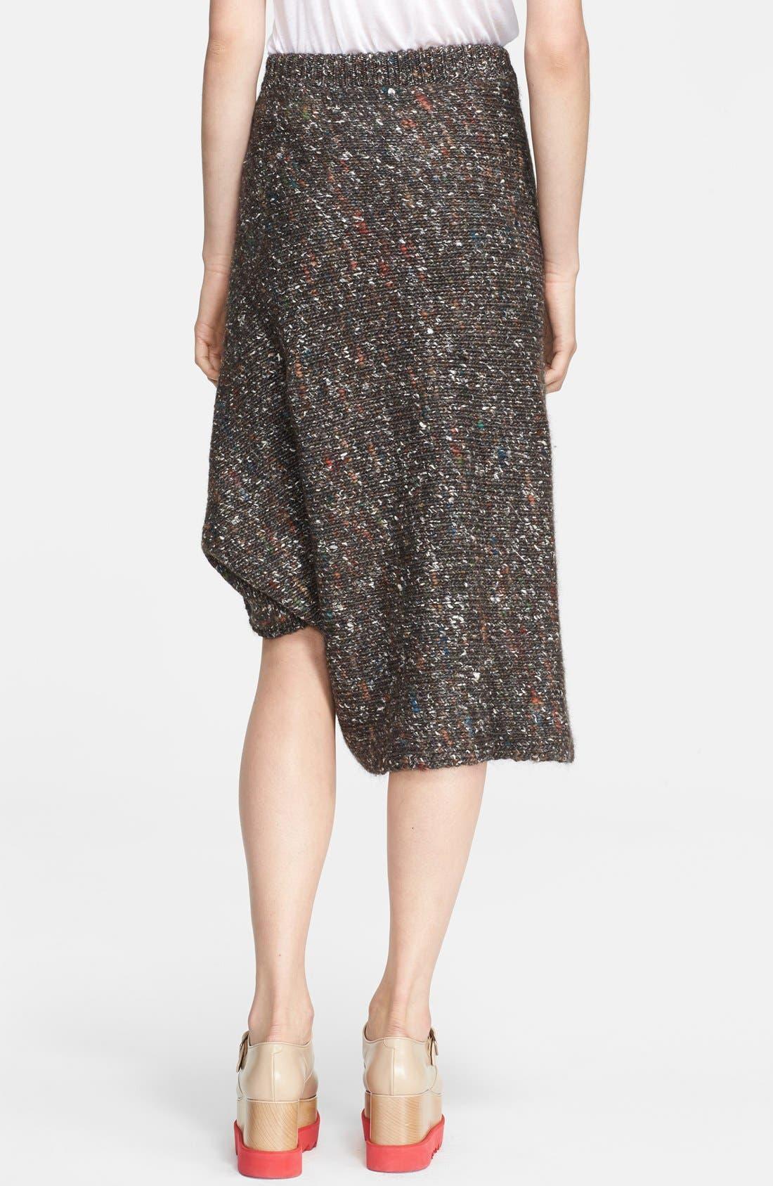 Alternate Image 2  - Stella McCartney Mélange Knit Skirt