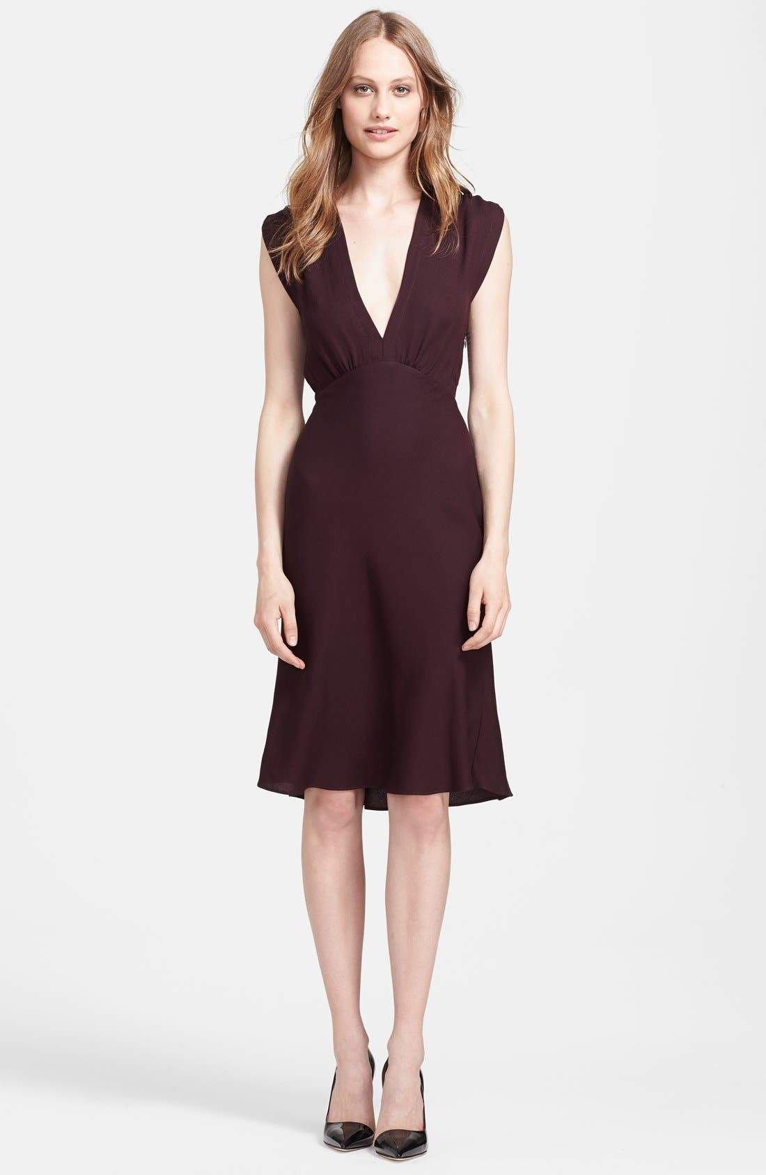 Alternate Image 1 Selected - L'AGENCE Sleeveless Crepe Cocktail Dress
