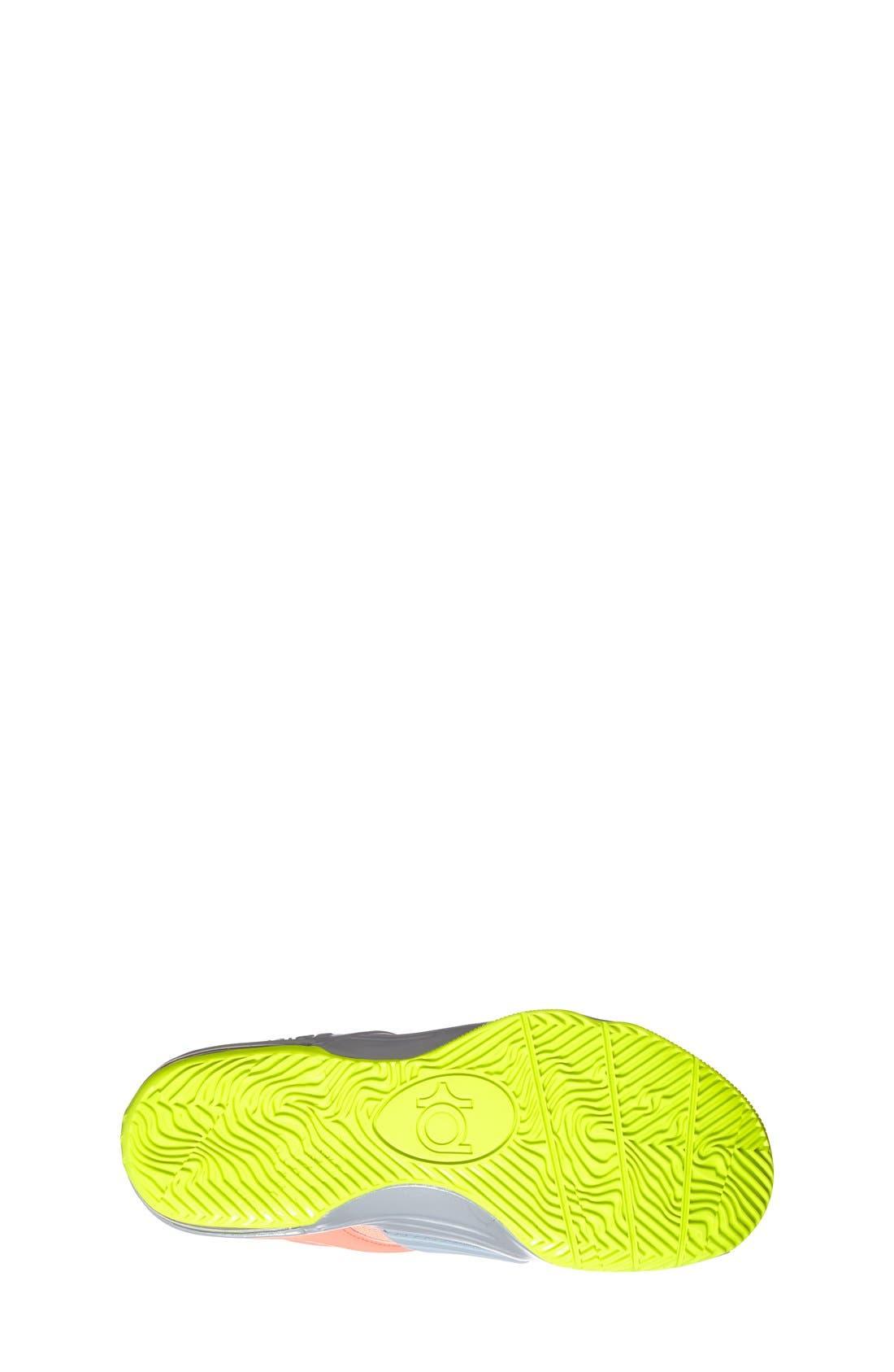 Alternate Image 4  - Nike 'KD VII' Basketball Shoe (Big Kid)