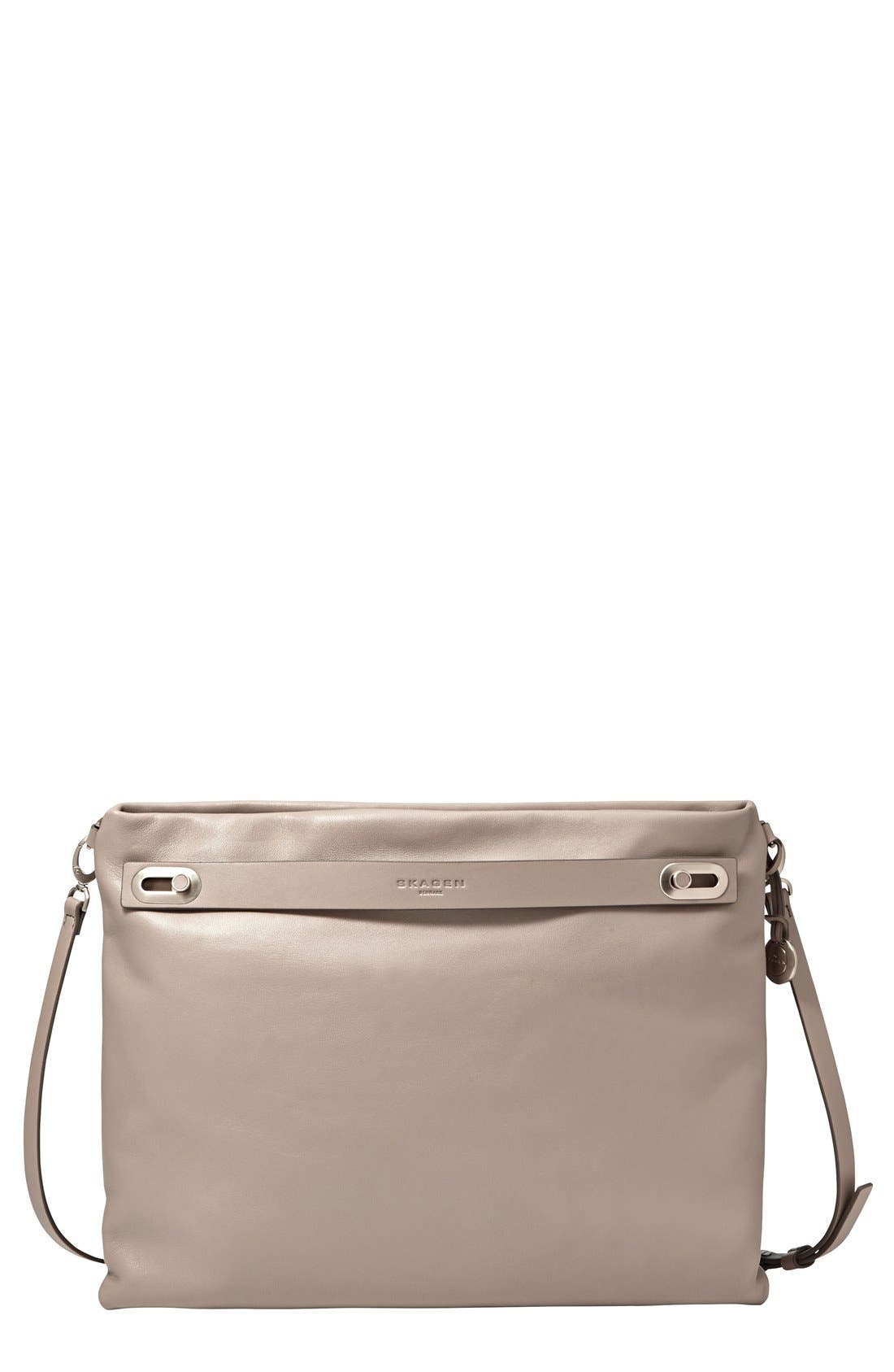 Alternate Image 3  - Skagen 'Mikkeline' Leather Satchel