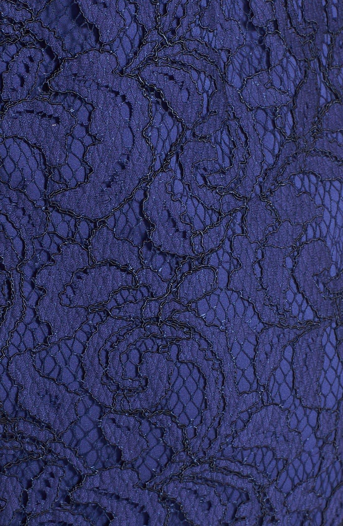 Alternate Image 4  - Cynthia Steffe 'Garland' Lace Sheath Dress