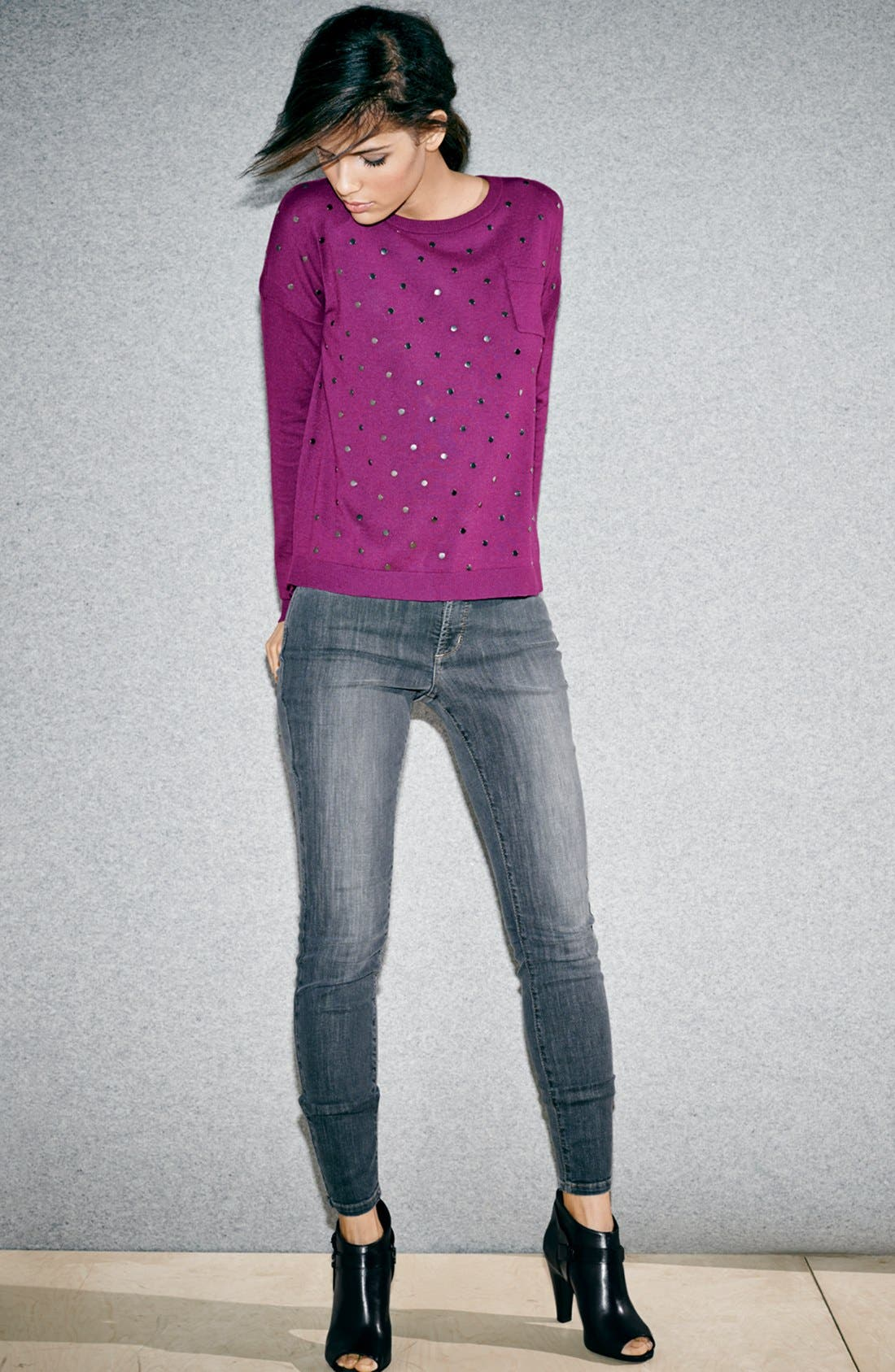 Alternate Image 7  - VC Signature 'Nikoletta' Peeptoe Bootie (Nordstrom Exclusive) (Women)