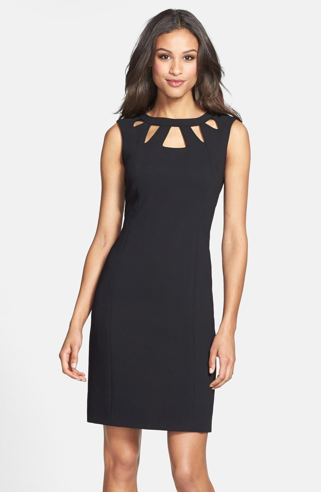 Eliza J Cutout Detail Sheath Dress