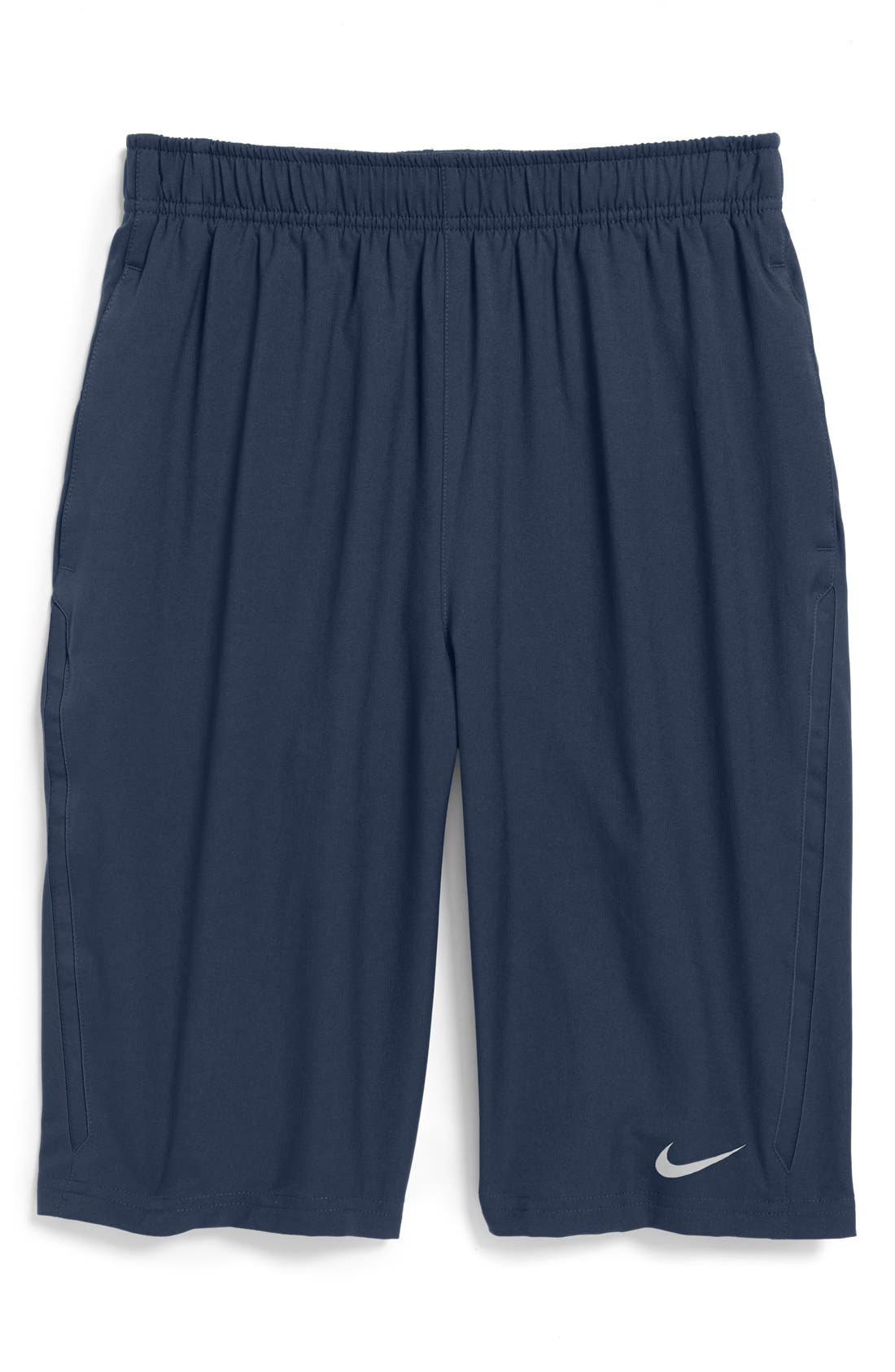 Alternate Image 1 Selected - Nike 'Boarder' Tennis Shorts (Big Boys)