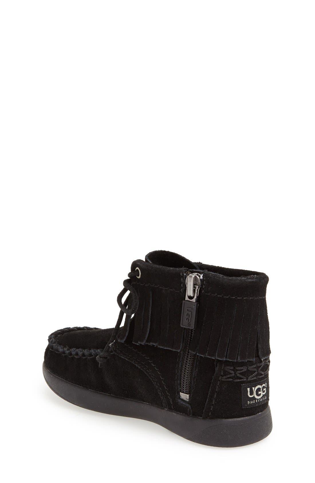 Alternate Image 2  - UGG® Australia 'Anisa' Moccasin Boot (Walker & Toddler)