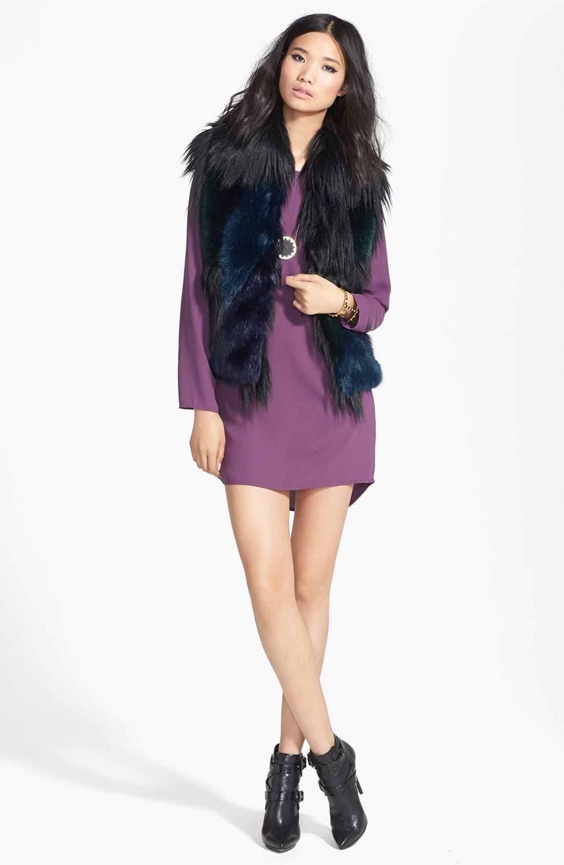 Alternate Image 5  - BLANKNYC Faux Fur Vest