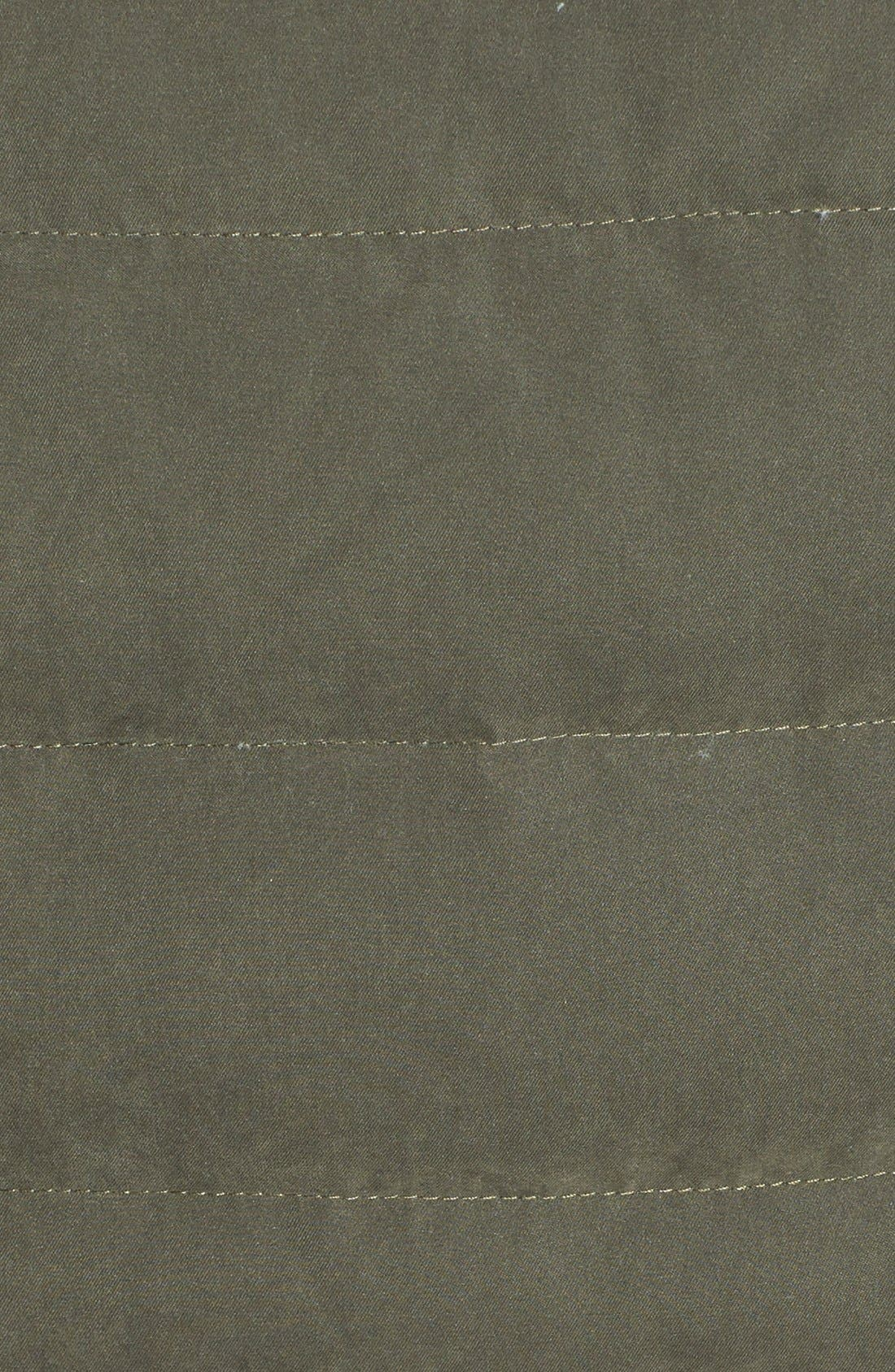 Alternate Image 4  - DKNY Faux Fur Trim Down & Feather Anorak