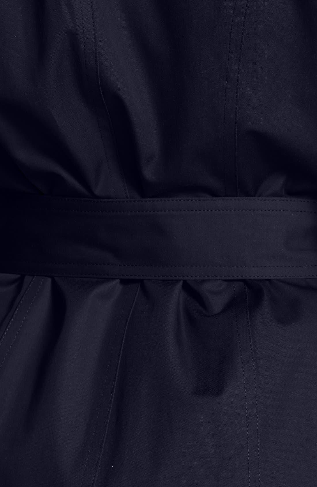 Alternate Image 3  - MICHAEL Michael Kors Trench Coat with Detachable Hood & Liner (Online Only)